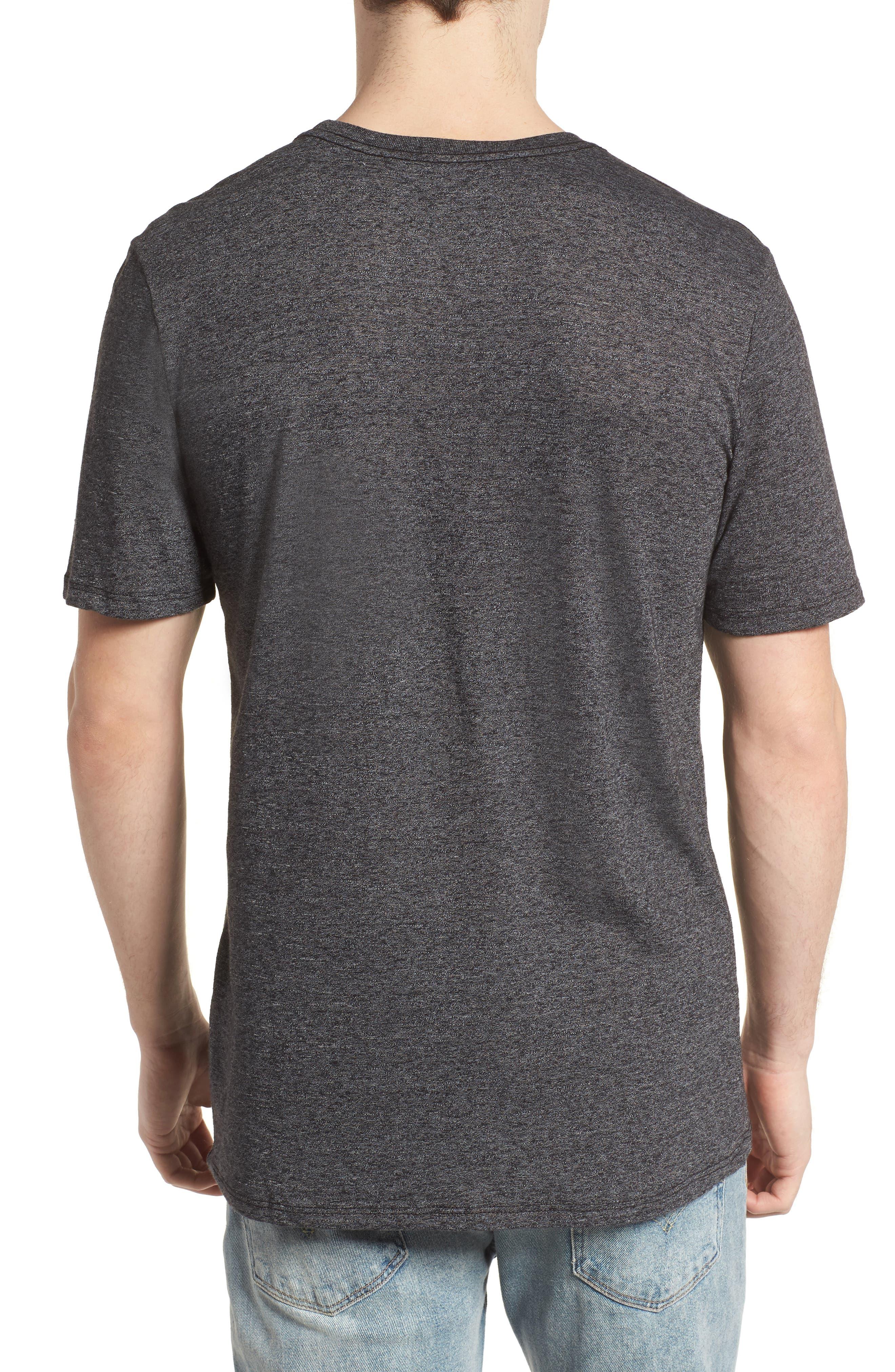 Swellagon Triblend T-Shirt,                             Alternate thumbnail 2, color,                             Black / Wolf Grey