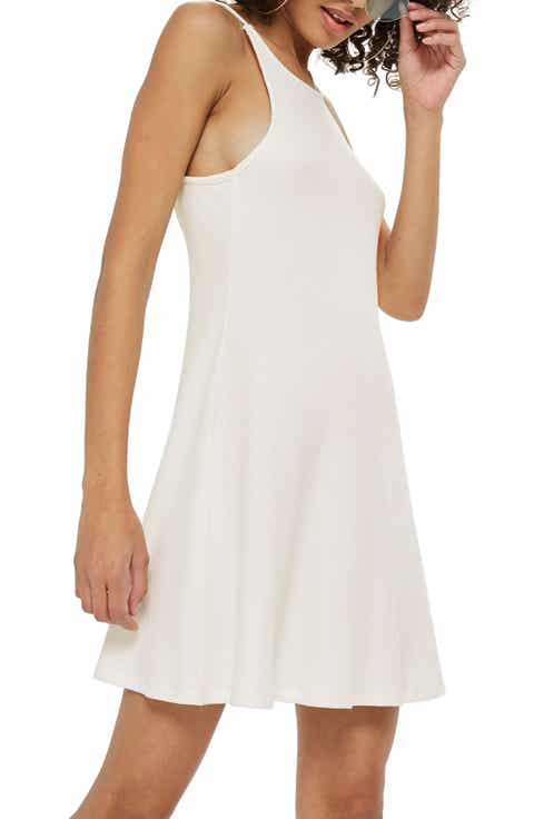 Women\'s White Short Dresses