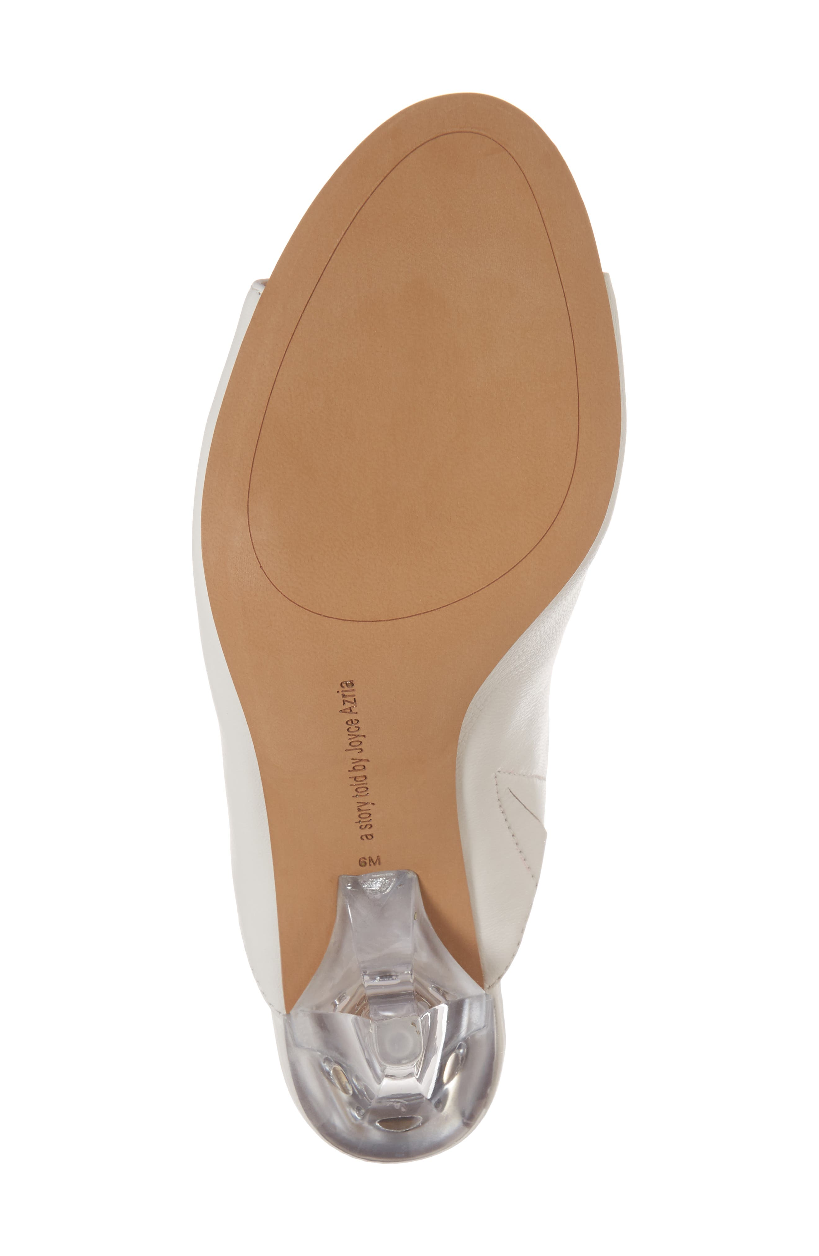Jazz Off Sandal,                             Alternate thumbnail 6, color,                             Off White Leather