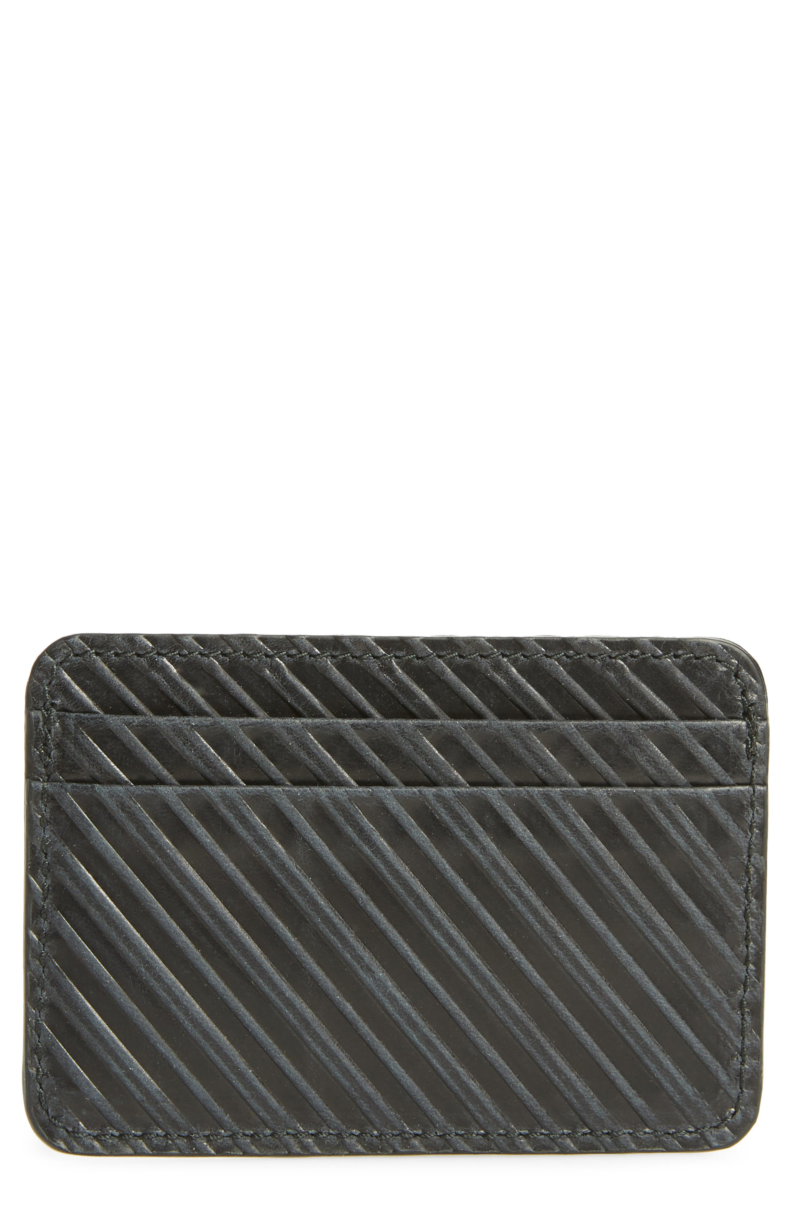 Alternate Image 1 Selected - Billy Reid Leather Card Case