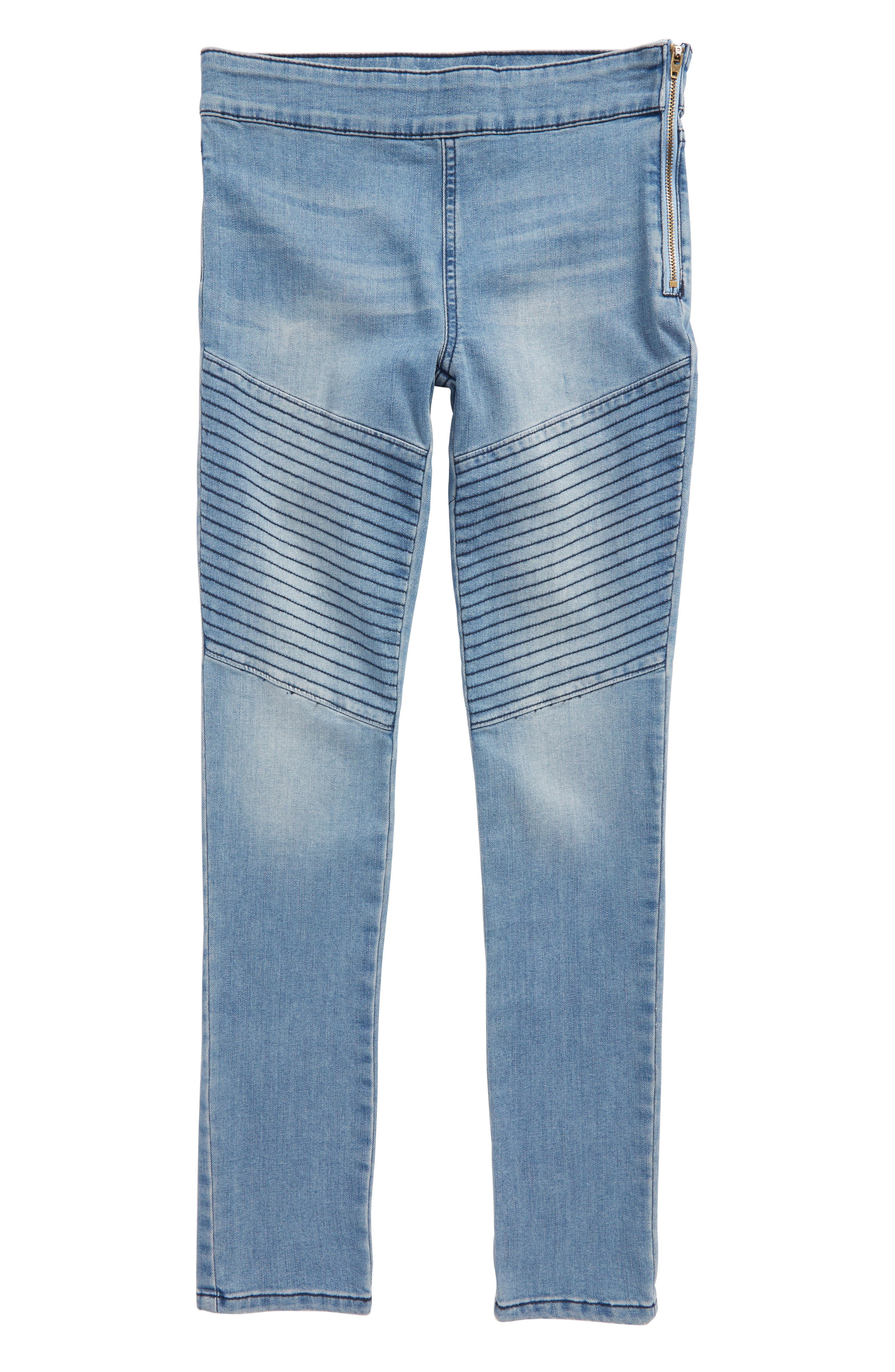 Tucker + Tate Denim Moto Leggings (Big Girls)
