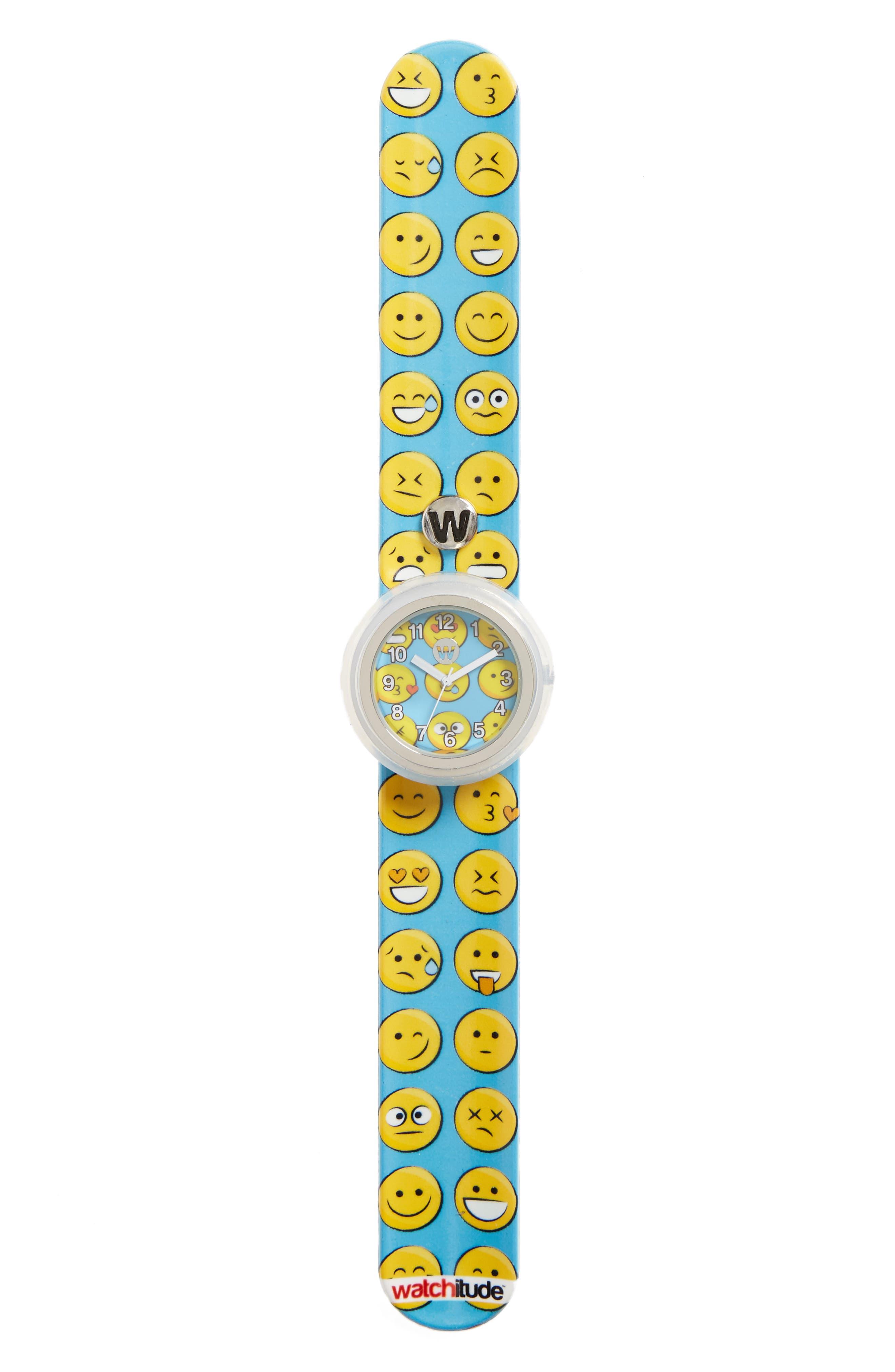 Happy Slap Watch,                         Main,                         color, Blue