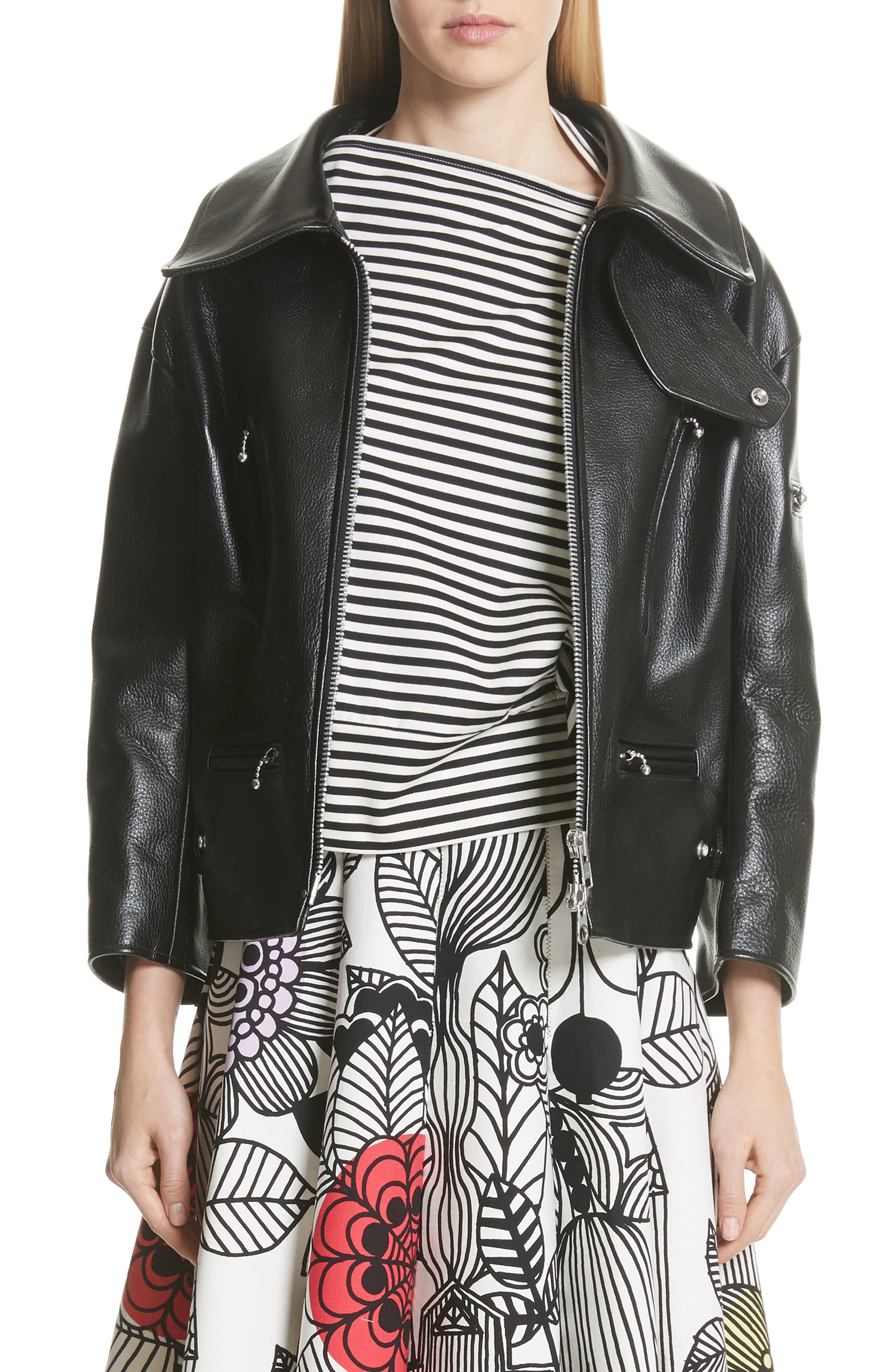 Junya Watanabe Leather Jacket