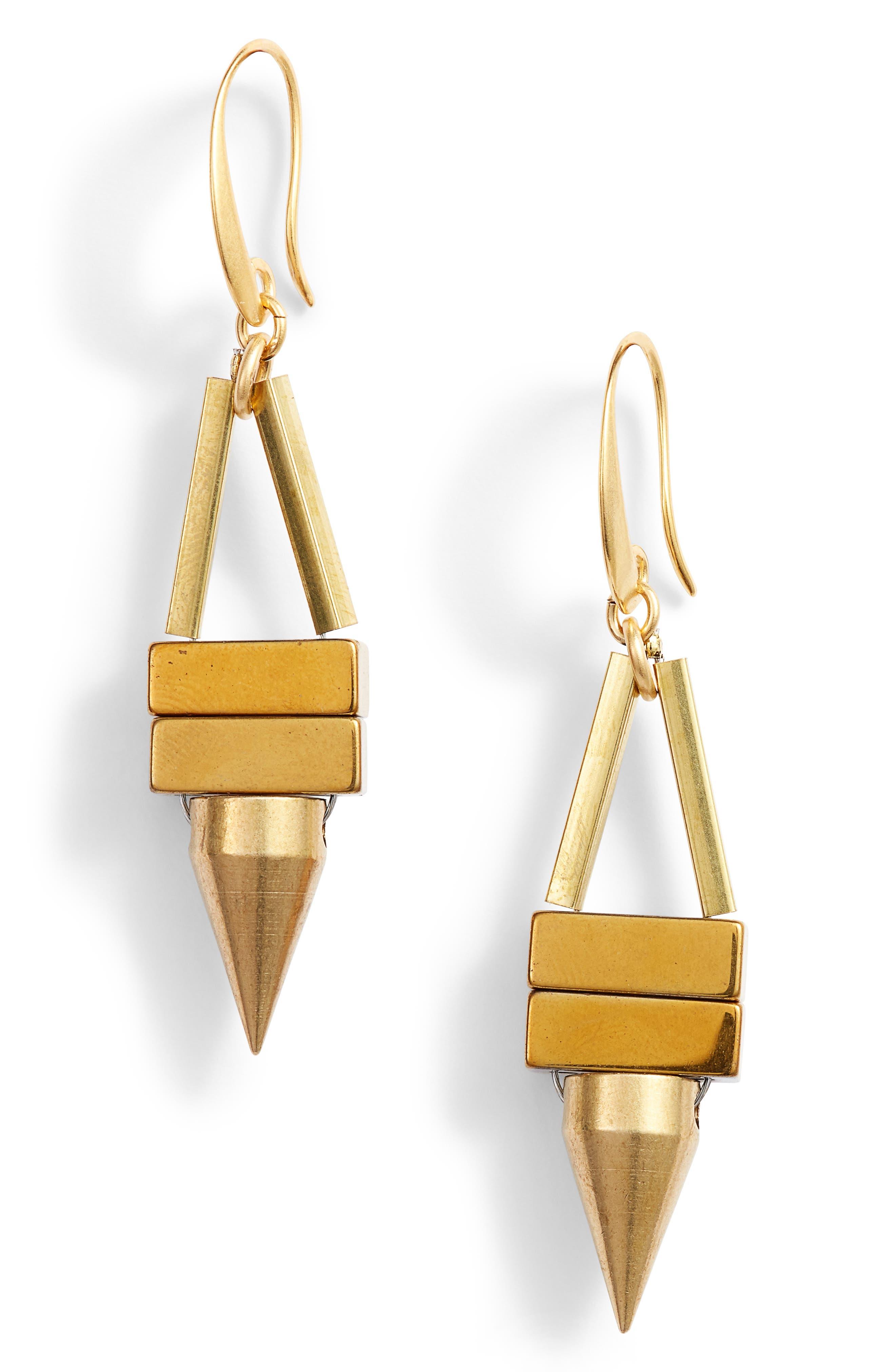 David Aubrey Odelle Mini Spike Earrings