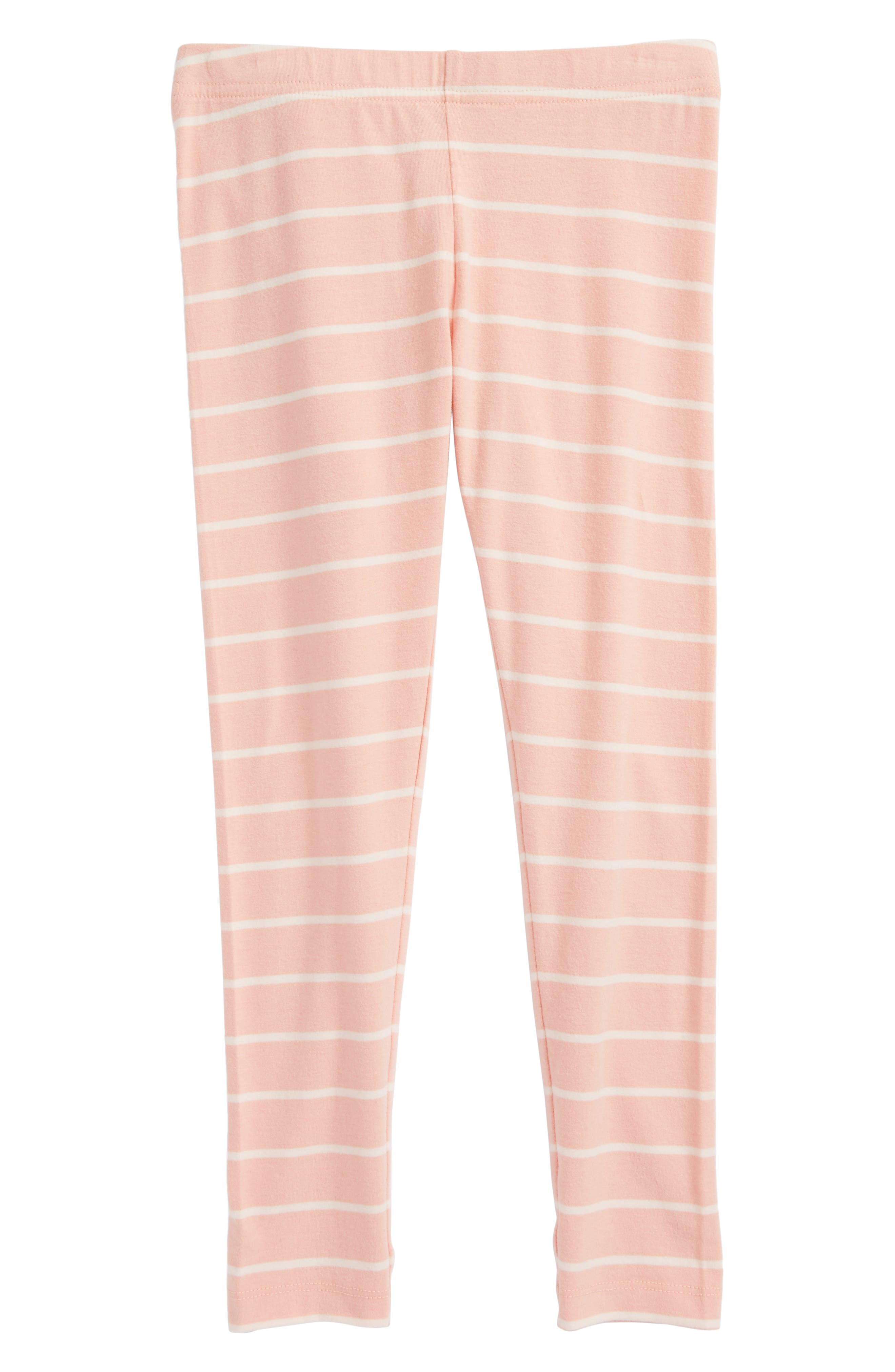 Tucker + Tate 'Core' Striped Leggings (Little Girls)