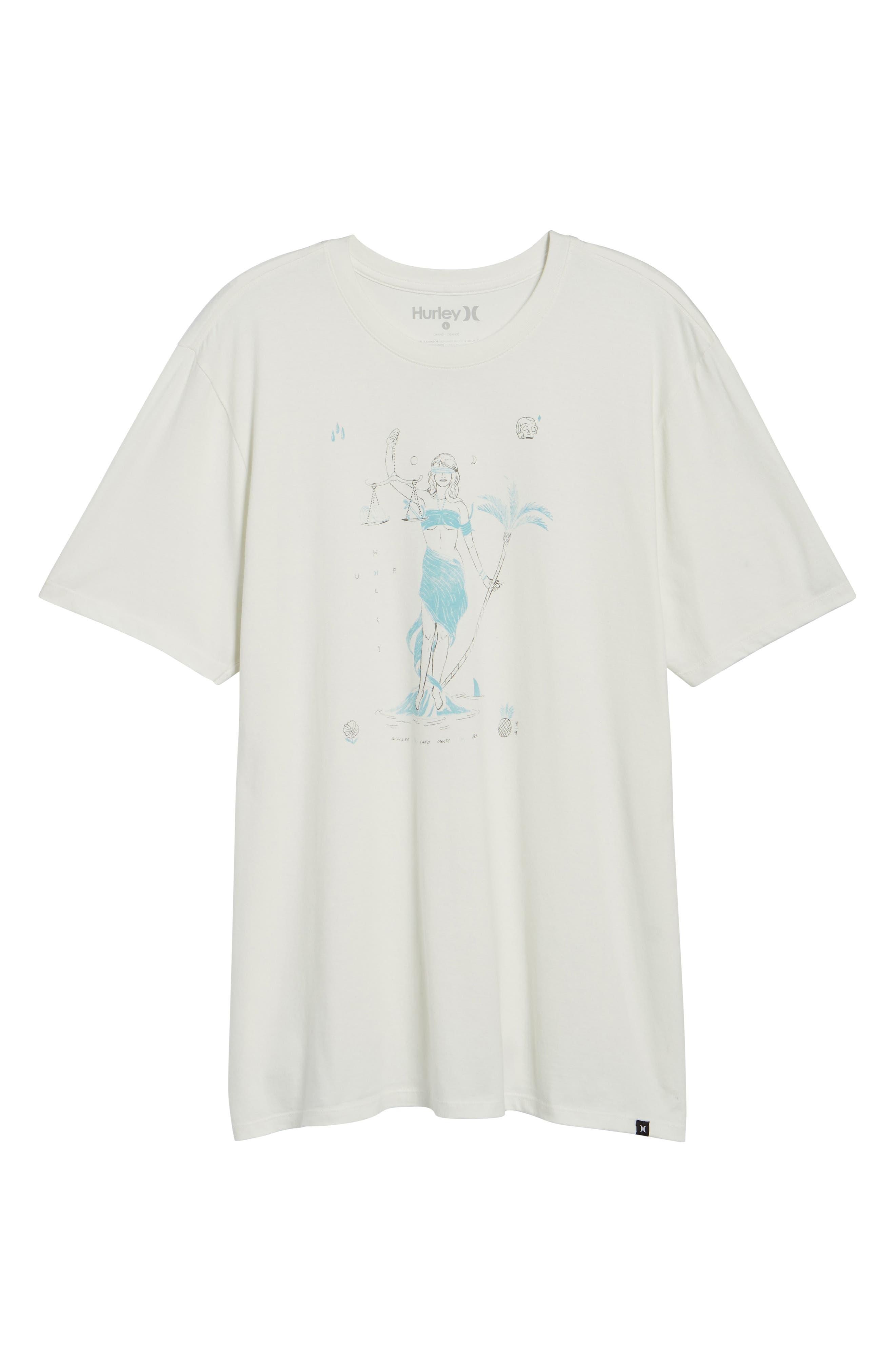 Siren T-Shirt,                             Alternate thumbnail 6, color,                             Sail