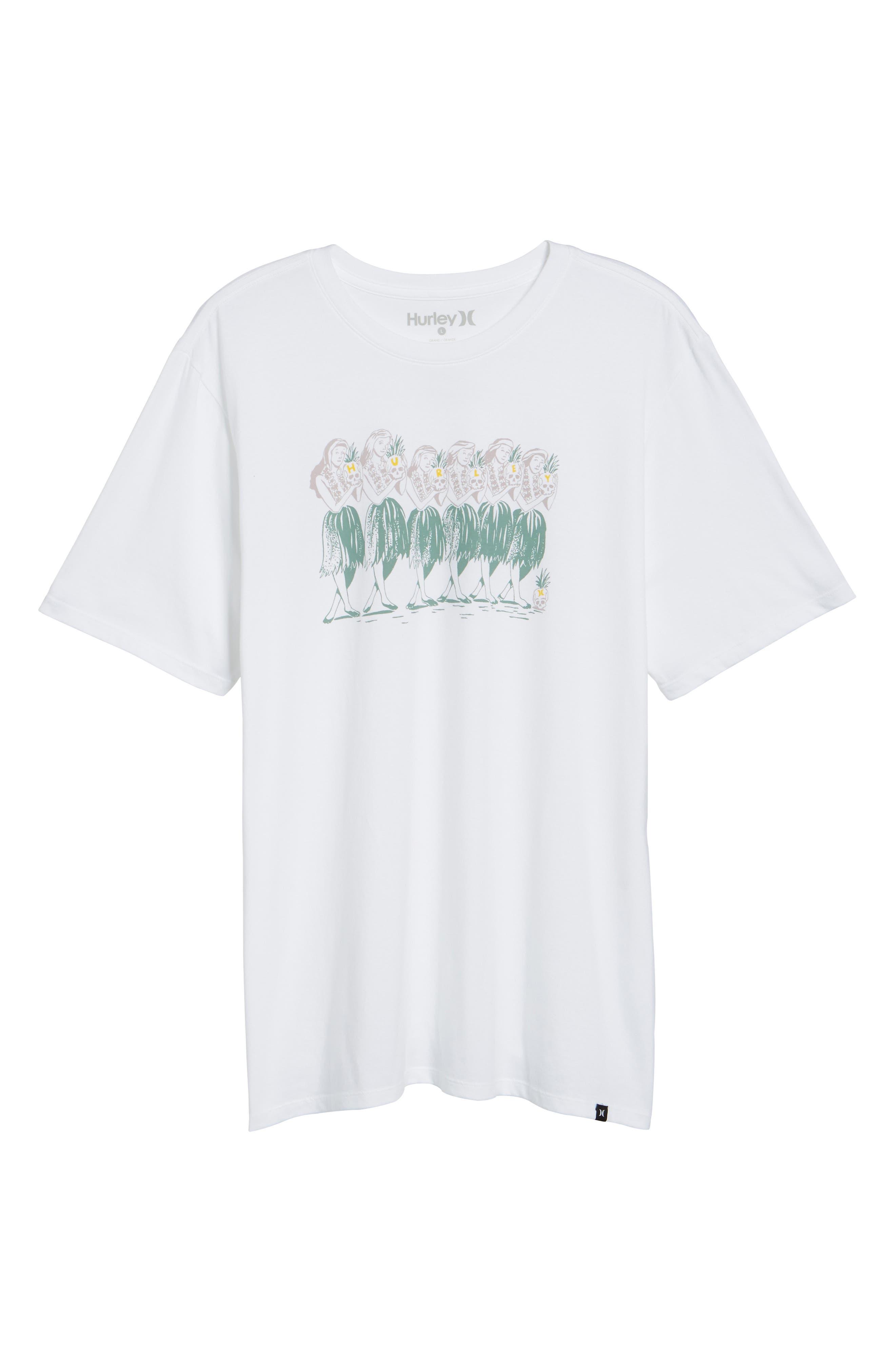 Hula T-Shirt,                             Alternate thumbnail 6, color,                             White
