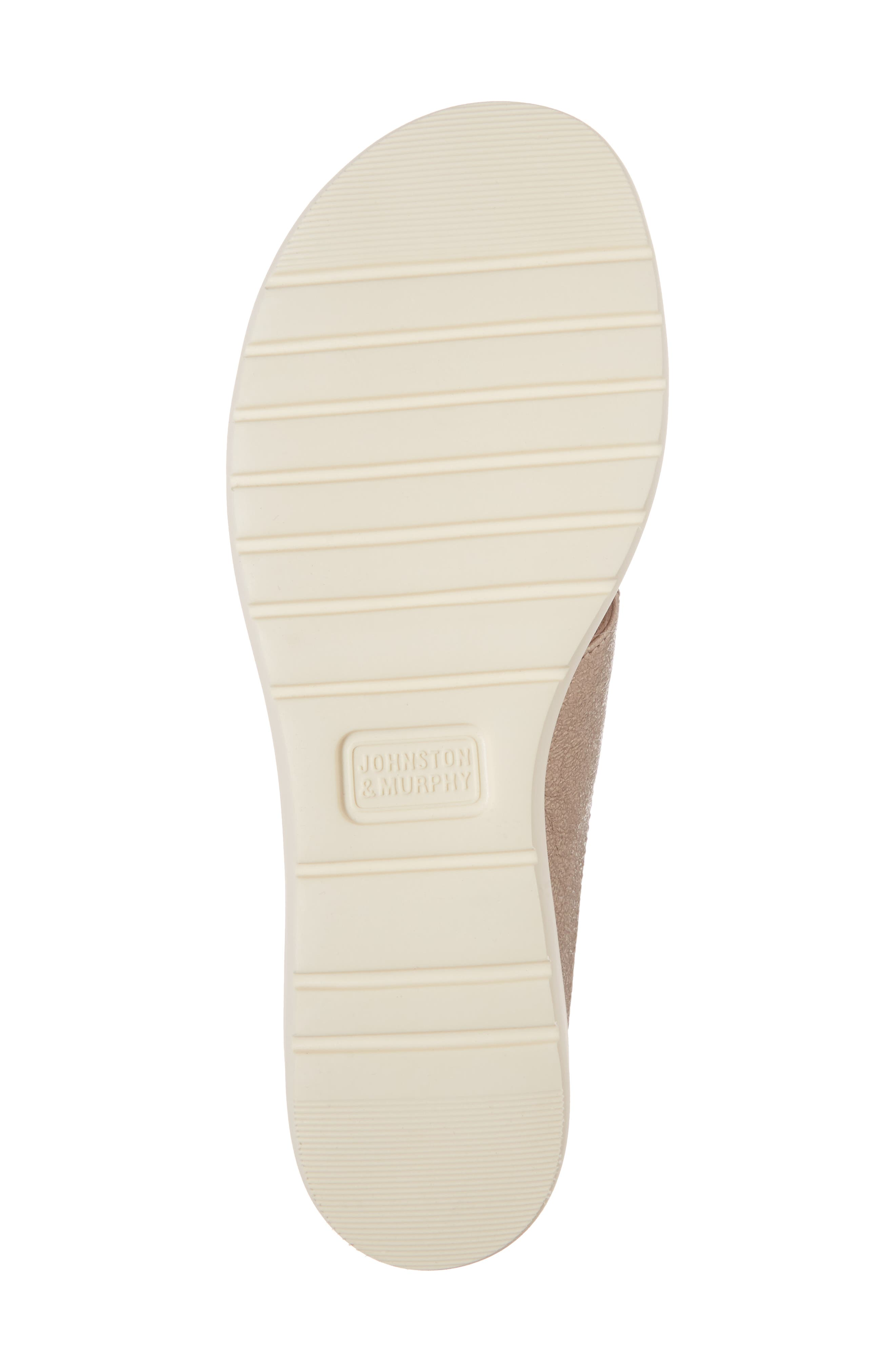 Carly Sandal,                             Alternate thumbnail 6, color,                             Champagne Metallic Leather