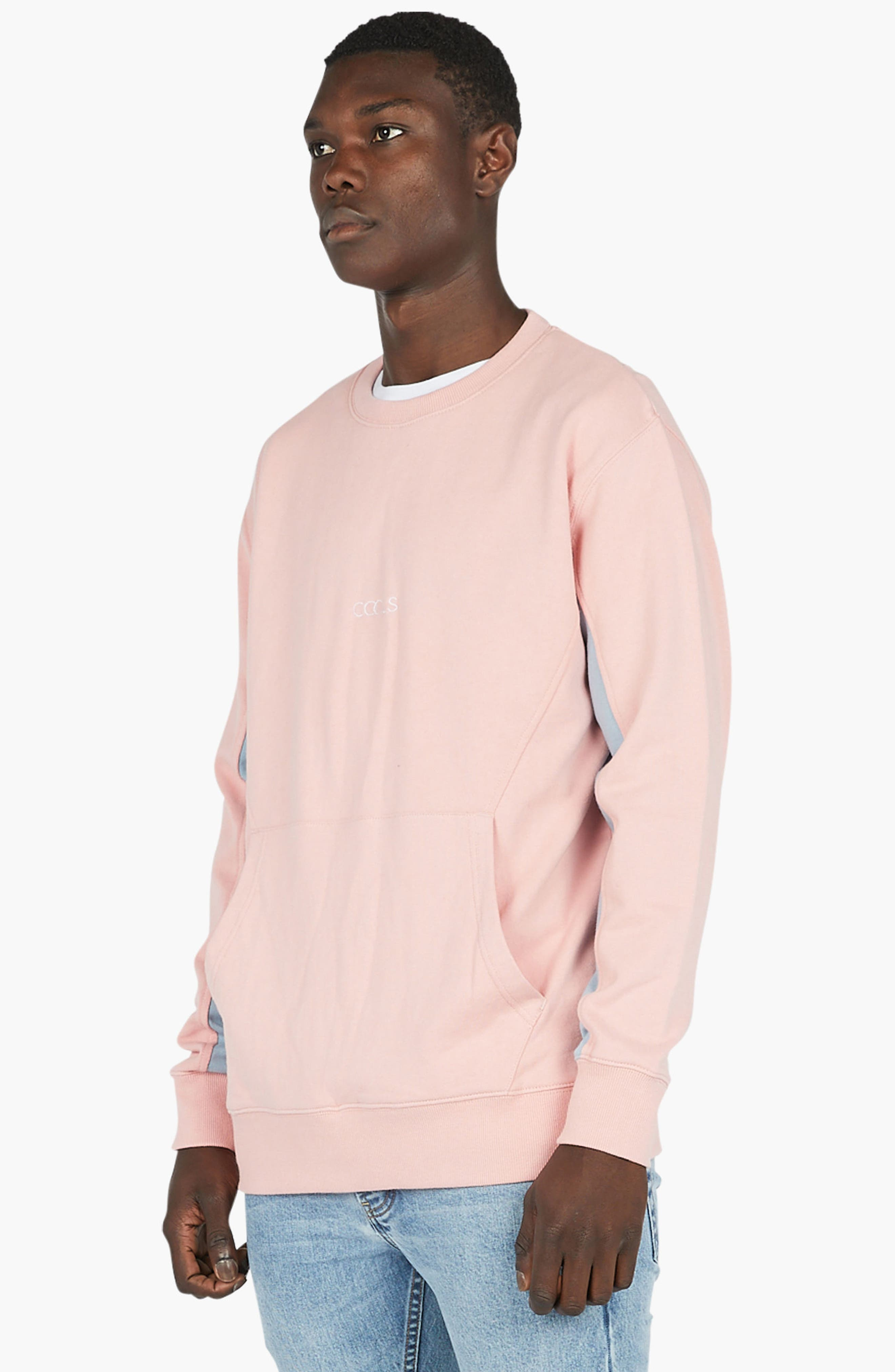 Sport Crew Sweater,                             Alternate thumbnail 4, color,                             Pink