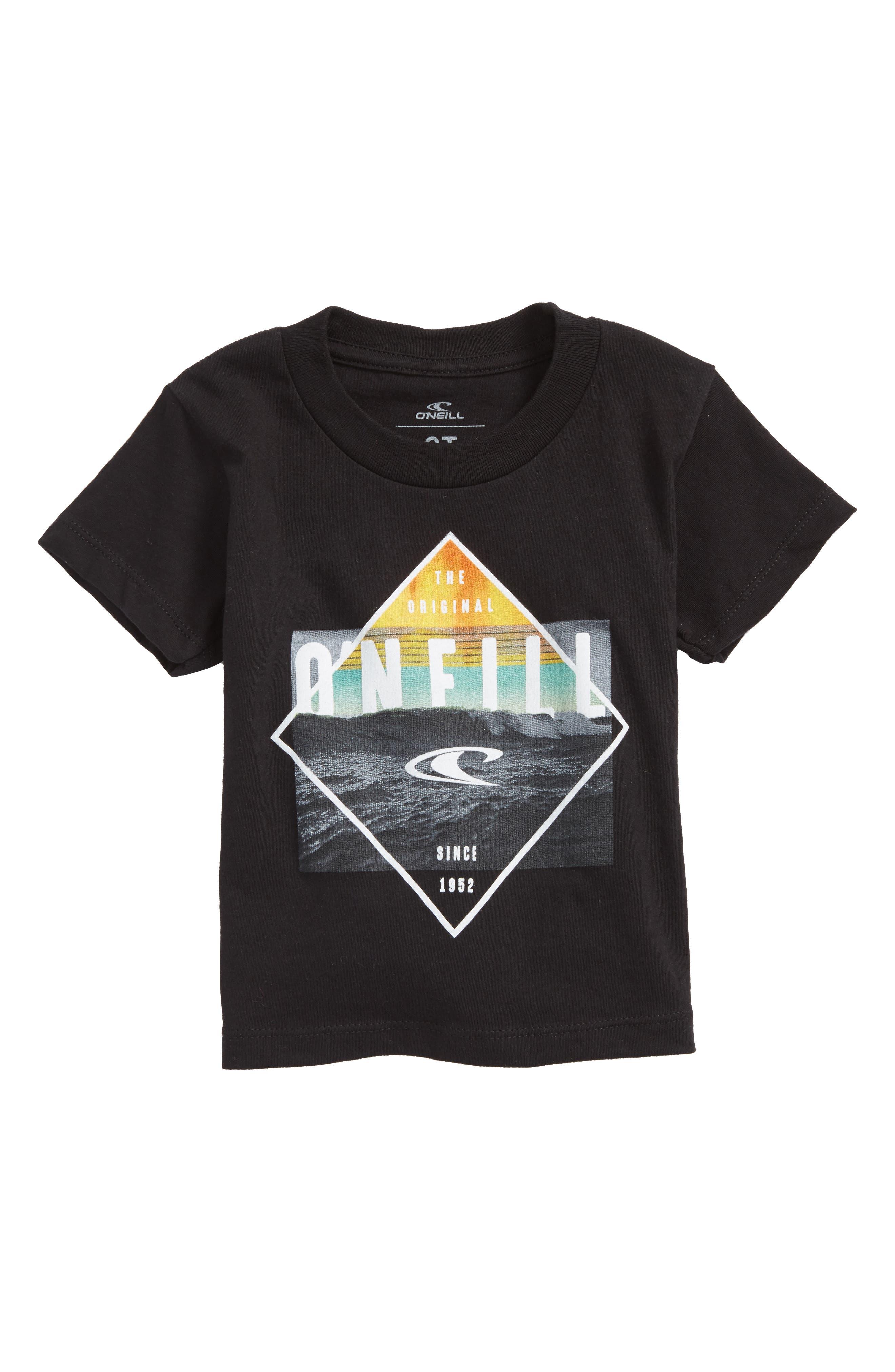 Black Pool Graphic T-Shirt,                             Main thumbnail 1, color,                             Black