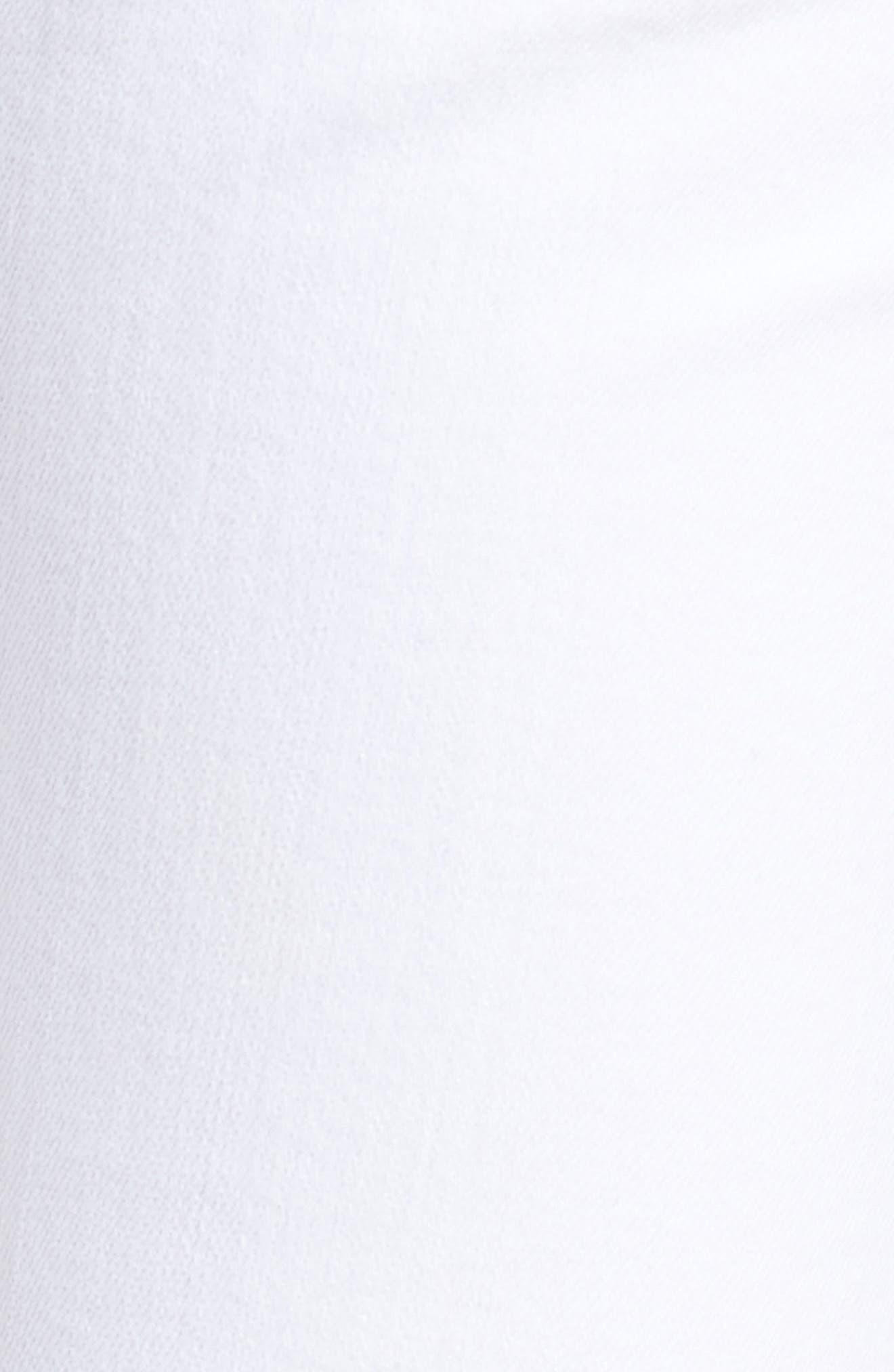Fleetwood Crop Straight Leg Jeans,                             Alternate thumbnail 6, color,                             Optic White