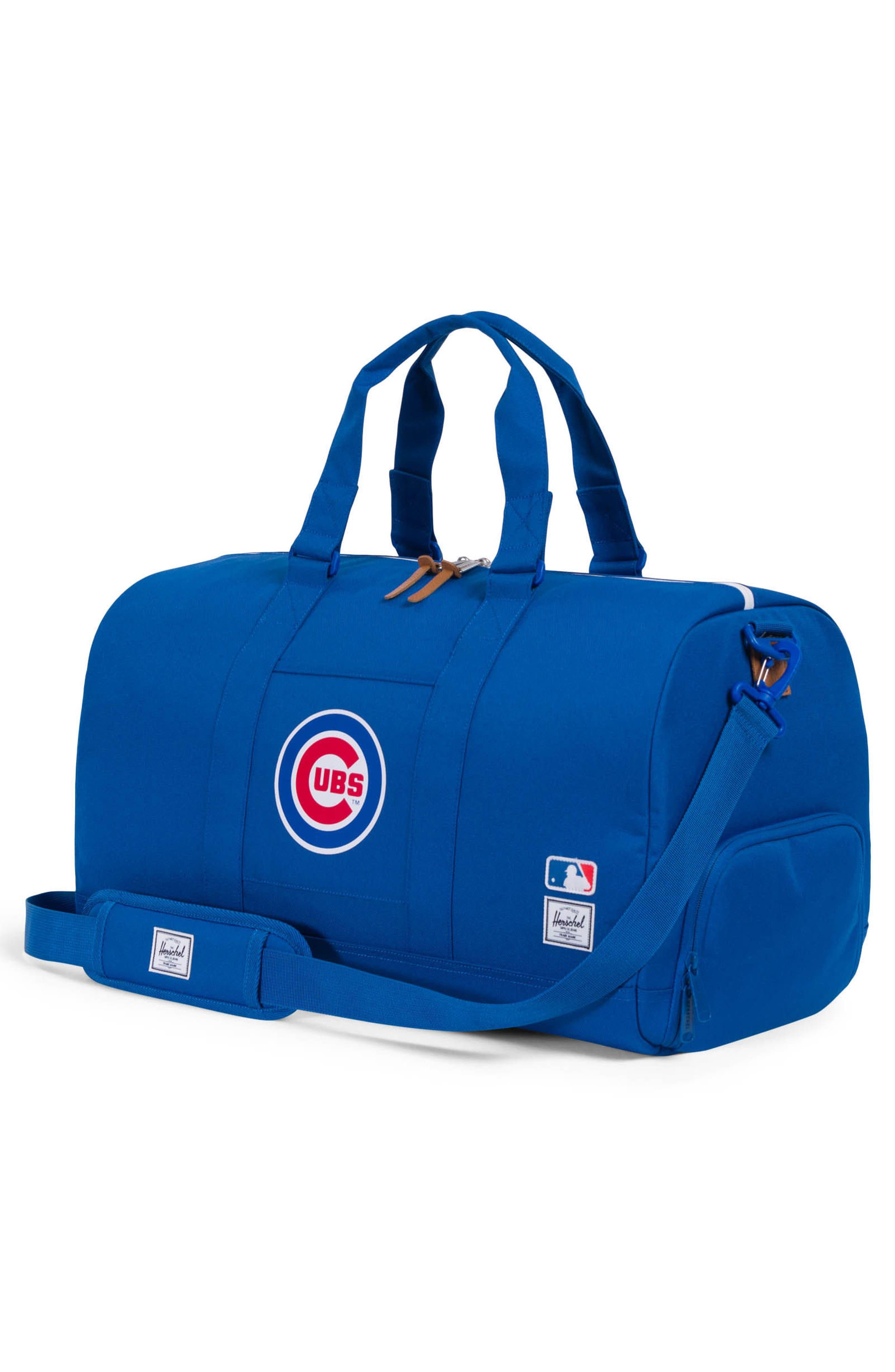 Novel - MLB National League Duffel Bag,                             Alternate thumbnail 2, color,                             Chicago Cubs