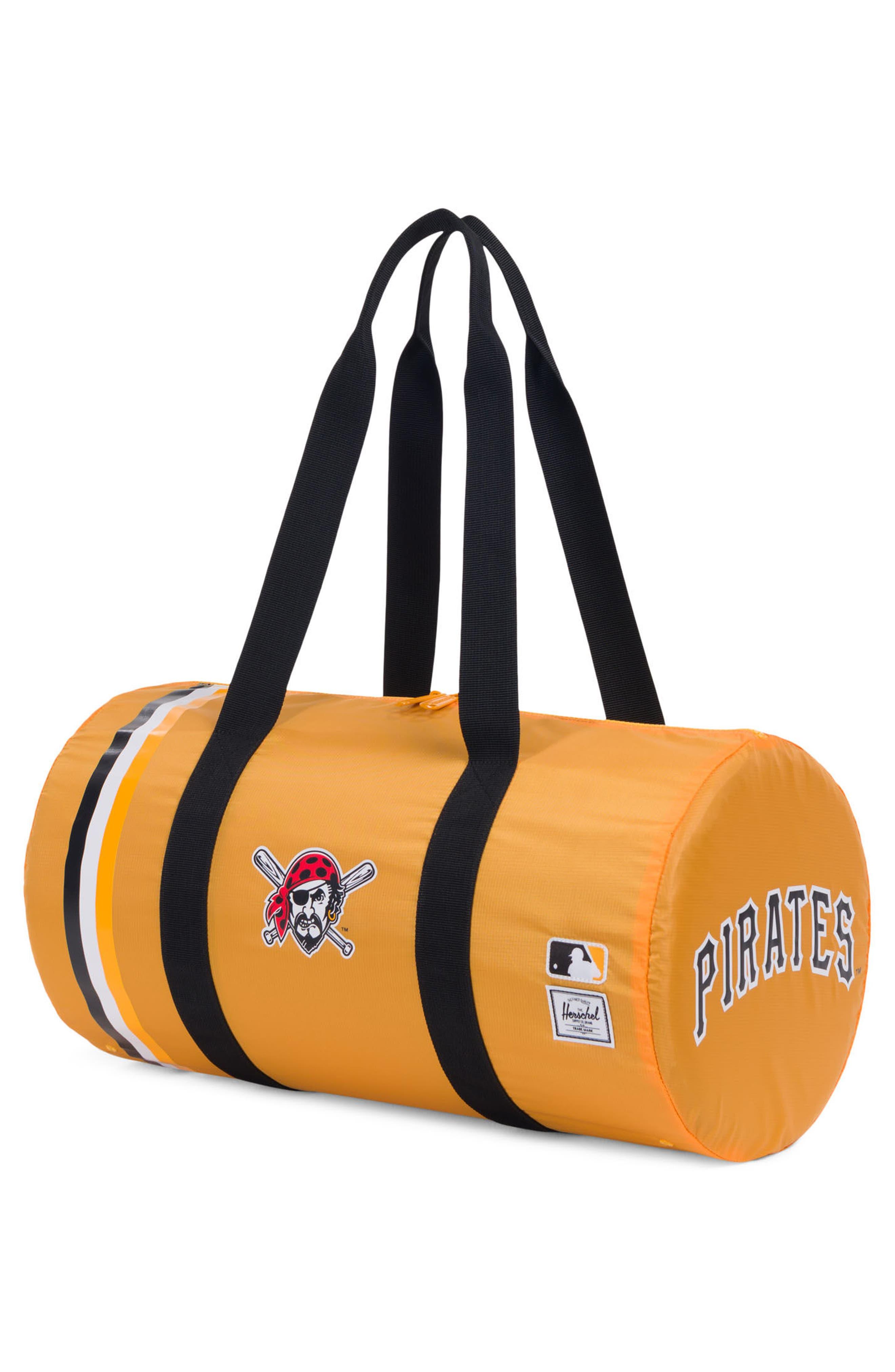 Packable - MLB National League Duffel Bag,                             Alternate thumbnail 2, color,                             Pittsburgh Pirates