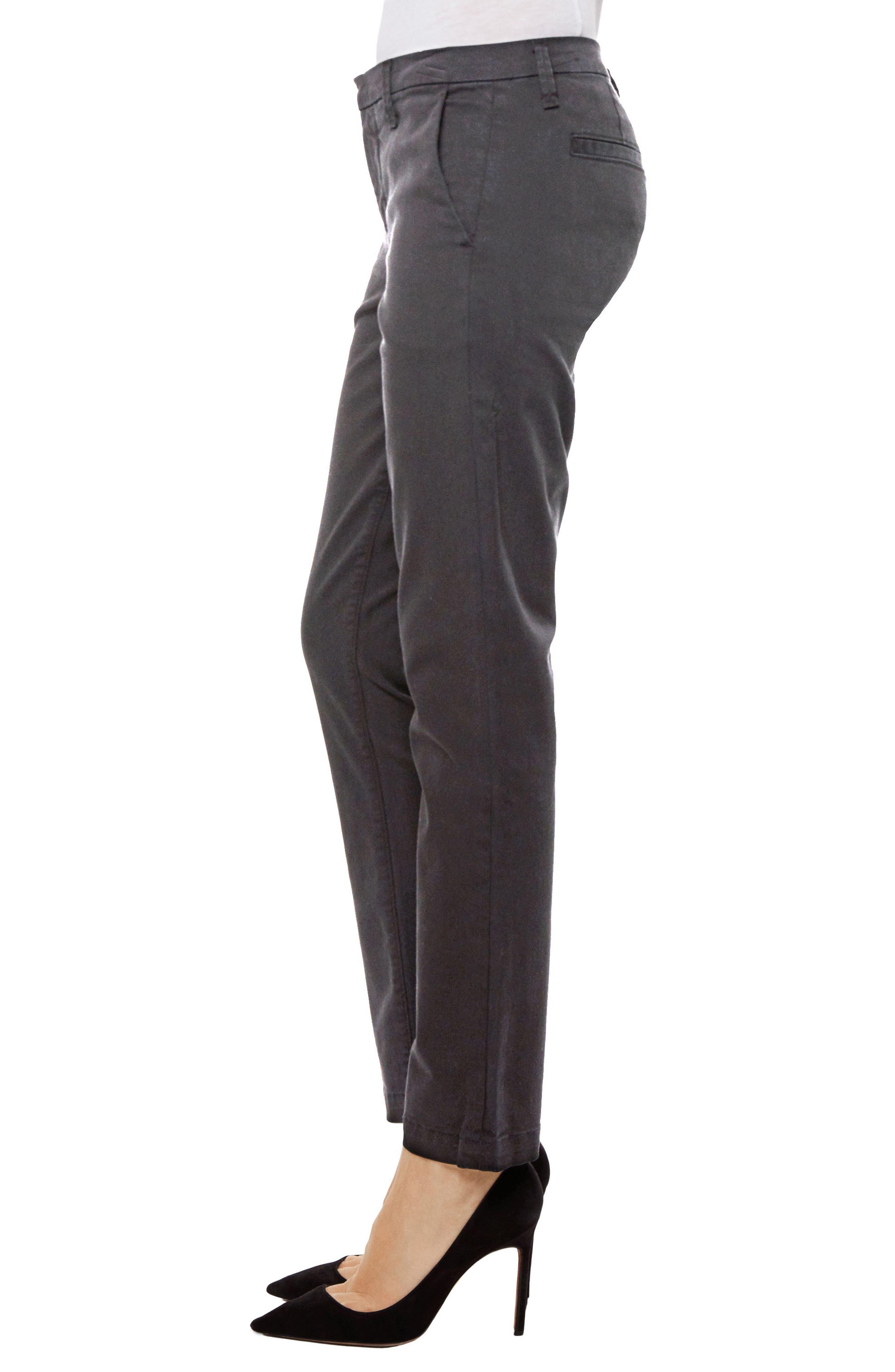 Clara Ankle Trousers,                             Alternate thumbnail 3, color,                             Zinc