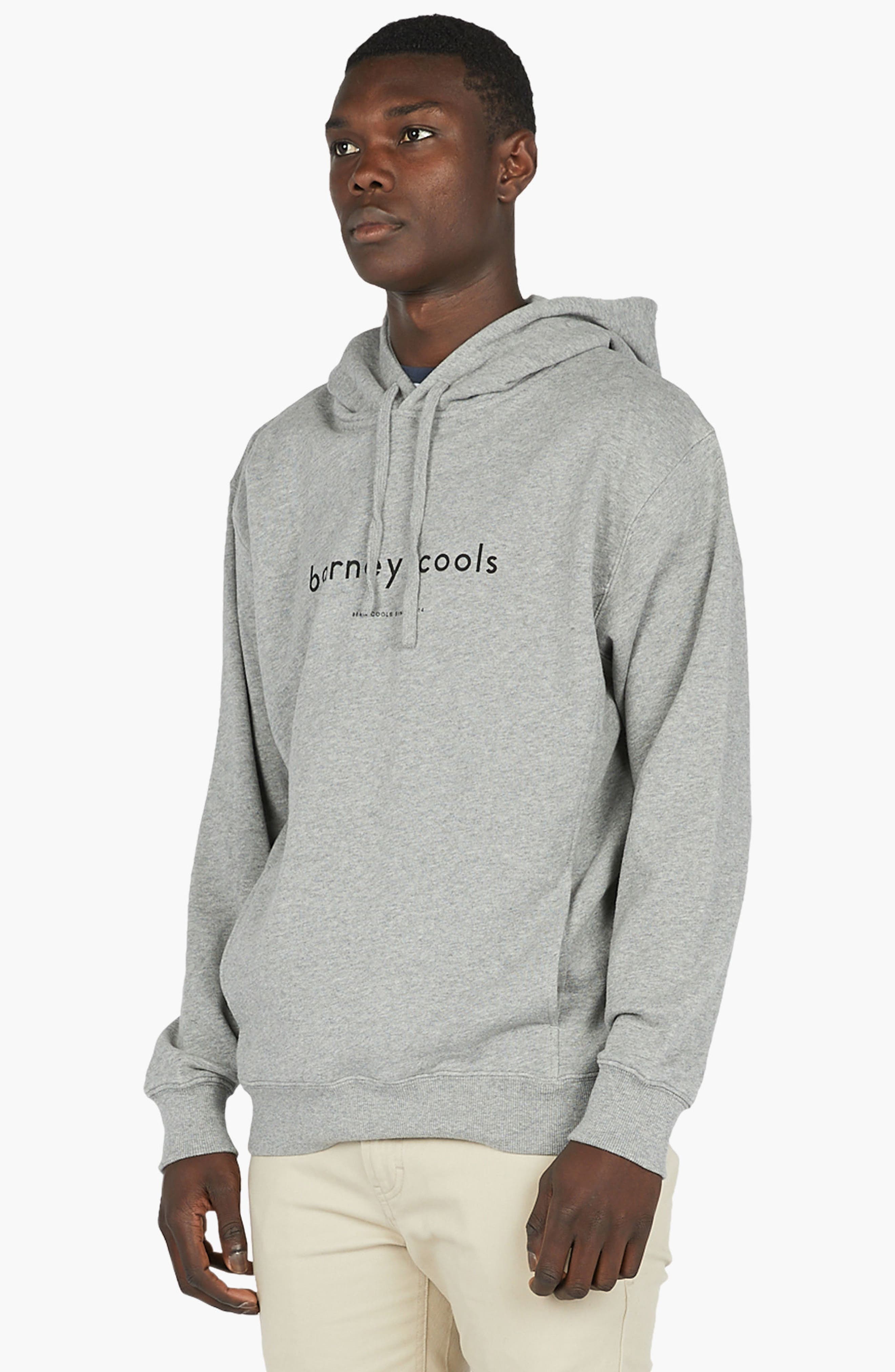 Alternate Image 4  - Barney Cools Logo Hoodie Sweatshirt