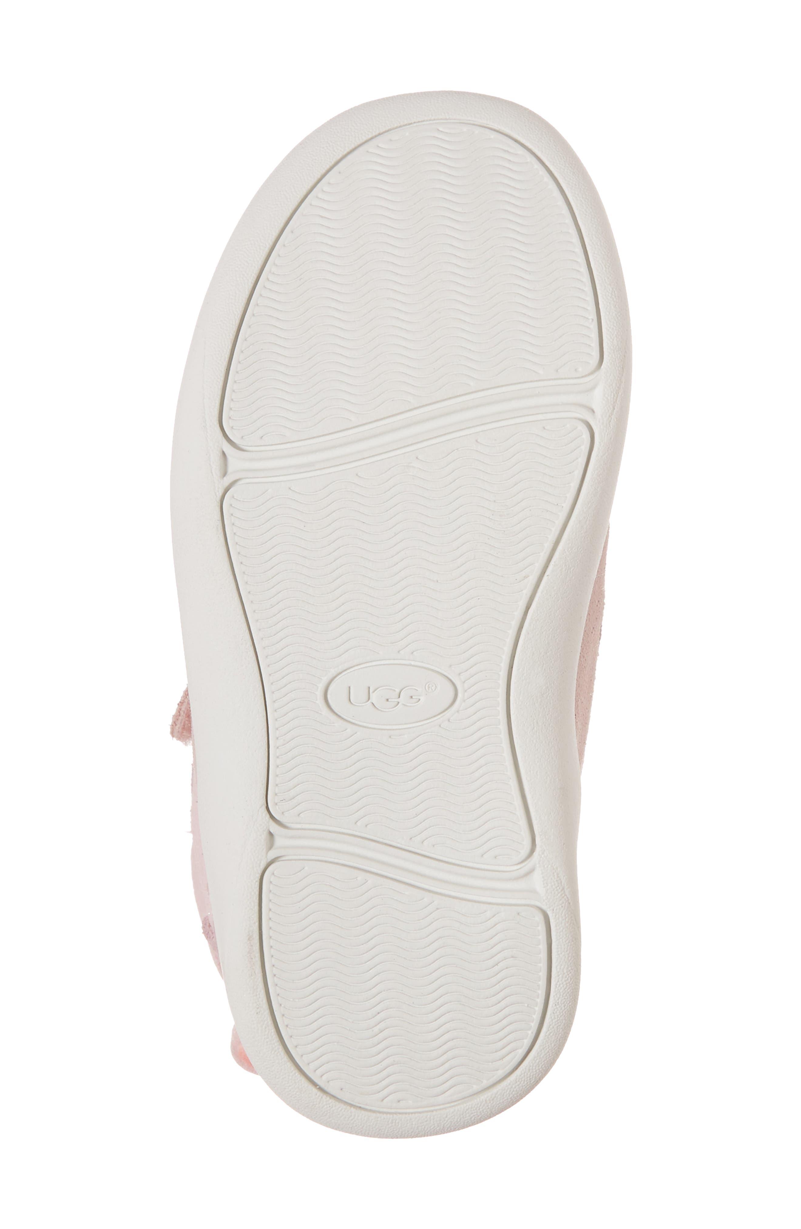 Livv Sunglass Appliqué Sneaker,                             Alternate thumbnail 6, color,                             Seashell Pink