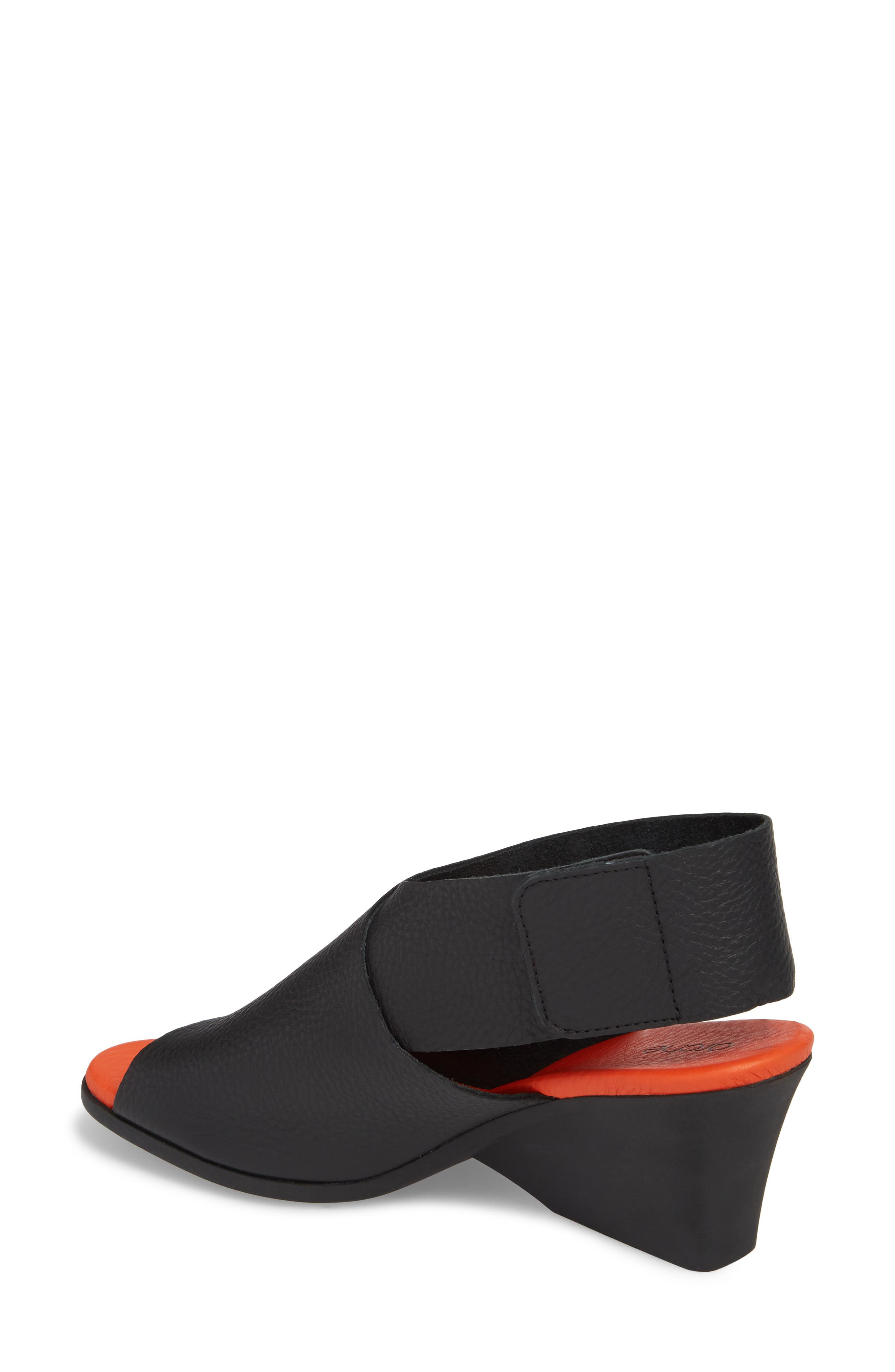 Ritual Wedge Sandal,                             Alternate thumbnail 2, color,                             Noir/ Paradis Leather