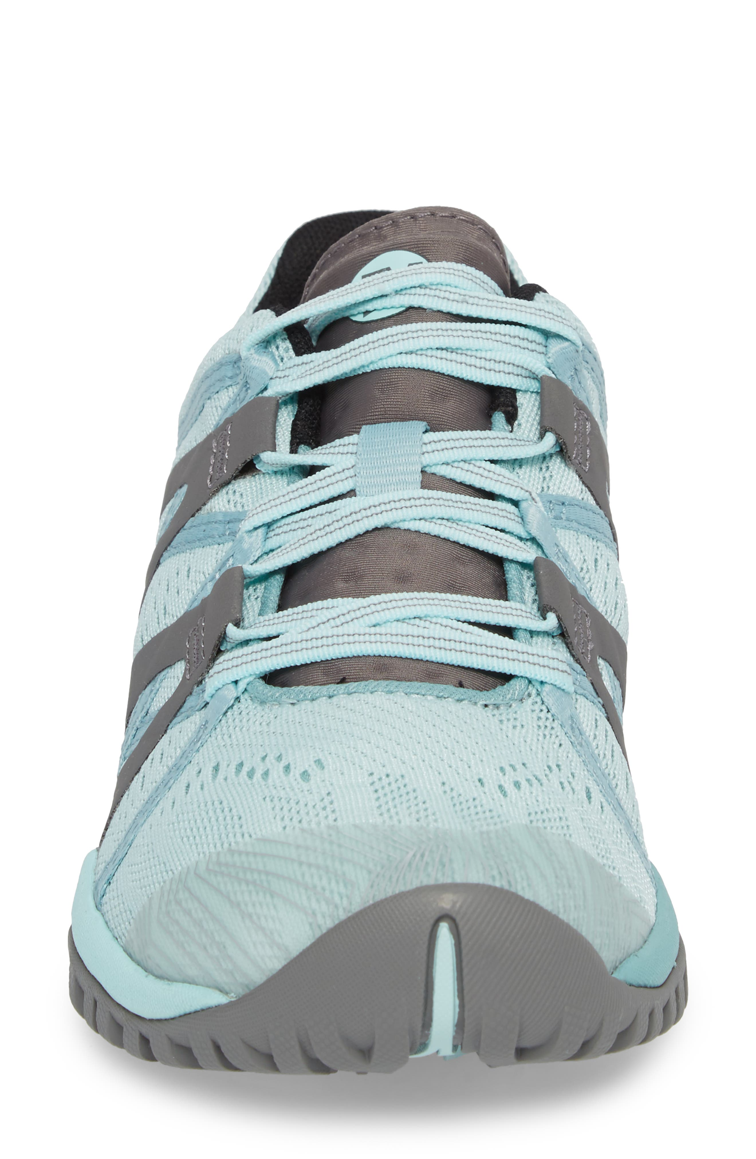 Siren Hex Sneaker,                             Alternate thumbnail 4, color,                             Bleached Aqua