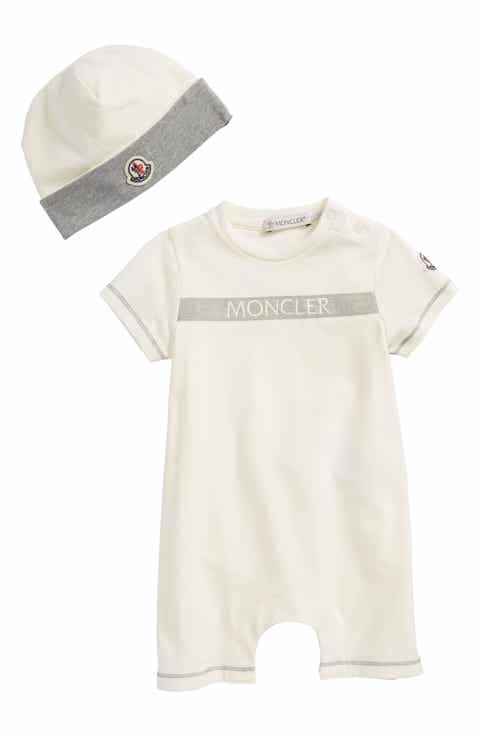 Off white designer baby clothes dresses tees diaper bags moncler short romper beanie gift set baby negle Gallery