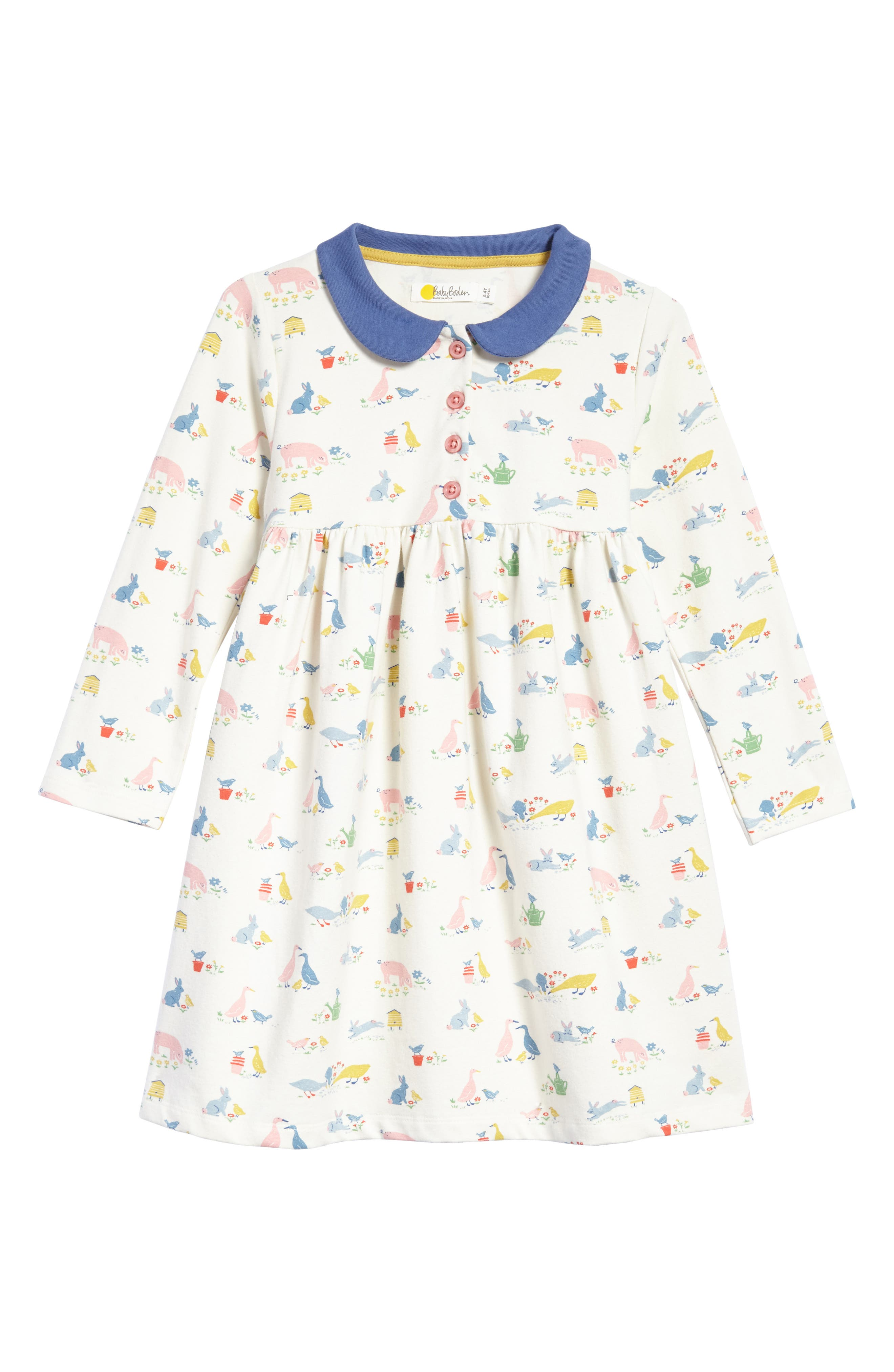 Mini Boden Jersey Dress (Baby Girls & Toddler Girls)