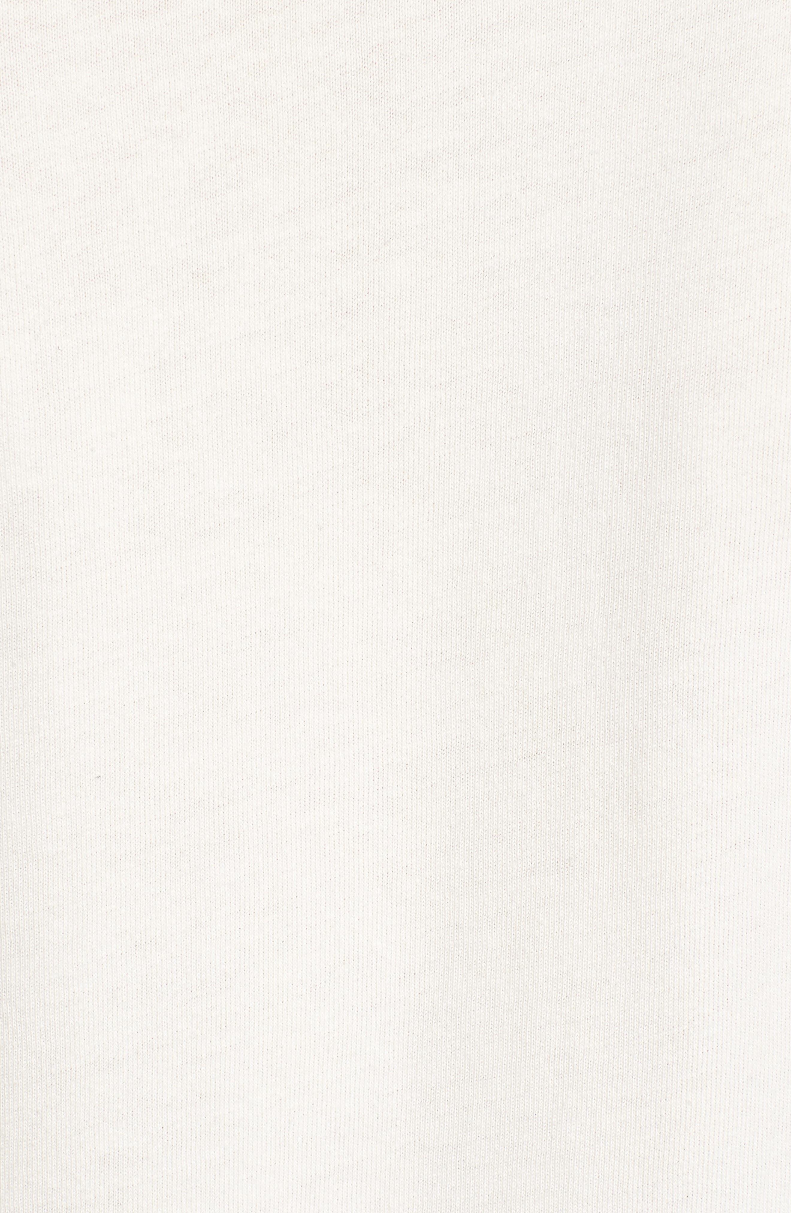 1950s Sportswear Pocket T-Shirt,                             Alternate thumbnail 5, color,                             White