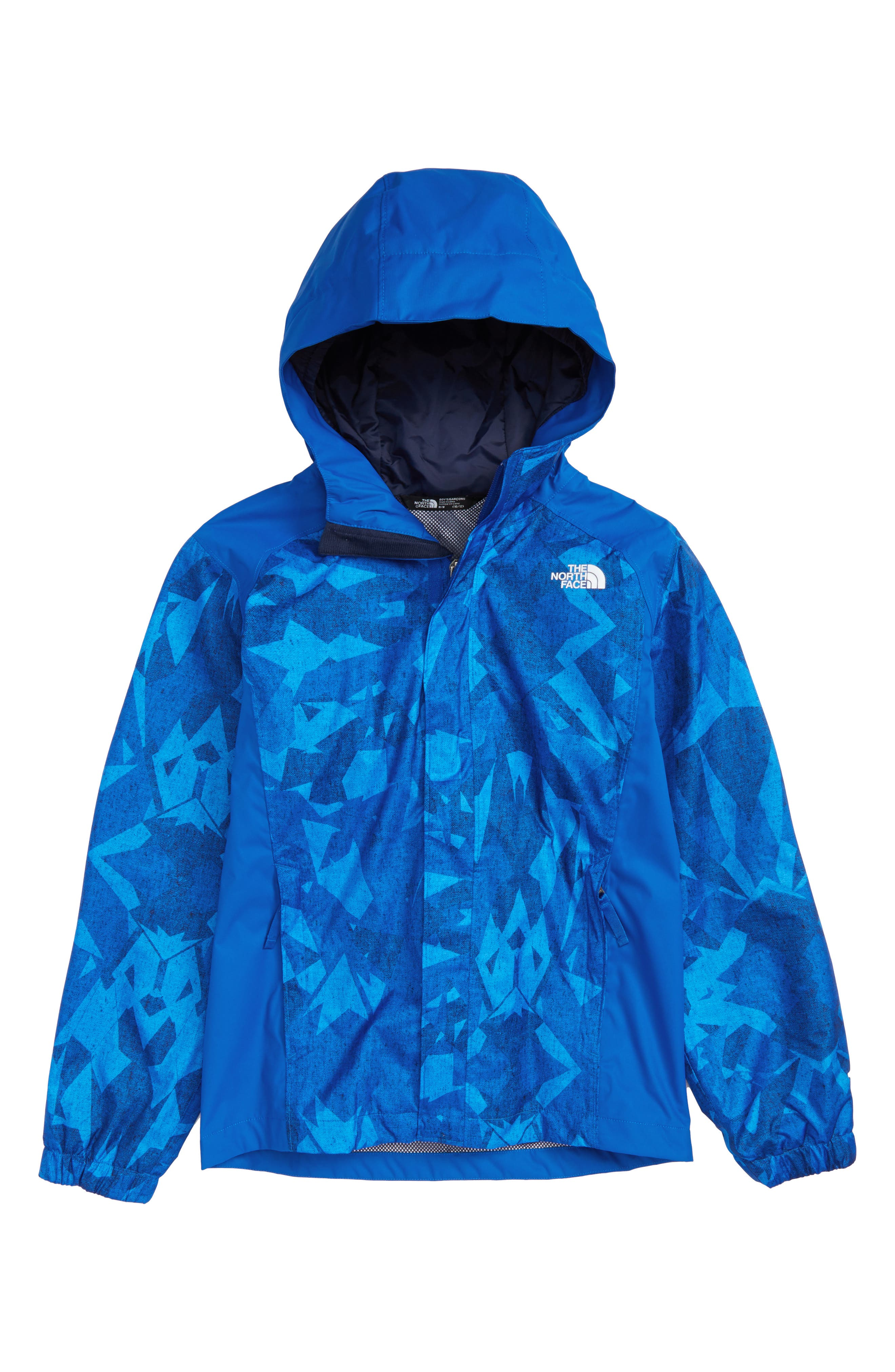 Alternate Image 1 Selected - The North Face 'Resolve' Waterproof Jacket (Little Boys & Big Boys)