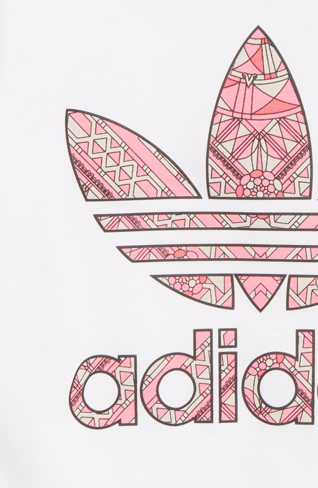 Originals Logo Graphic Tee,                             Alternate thumbnail 2, color,                             White