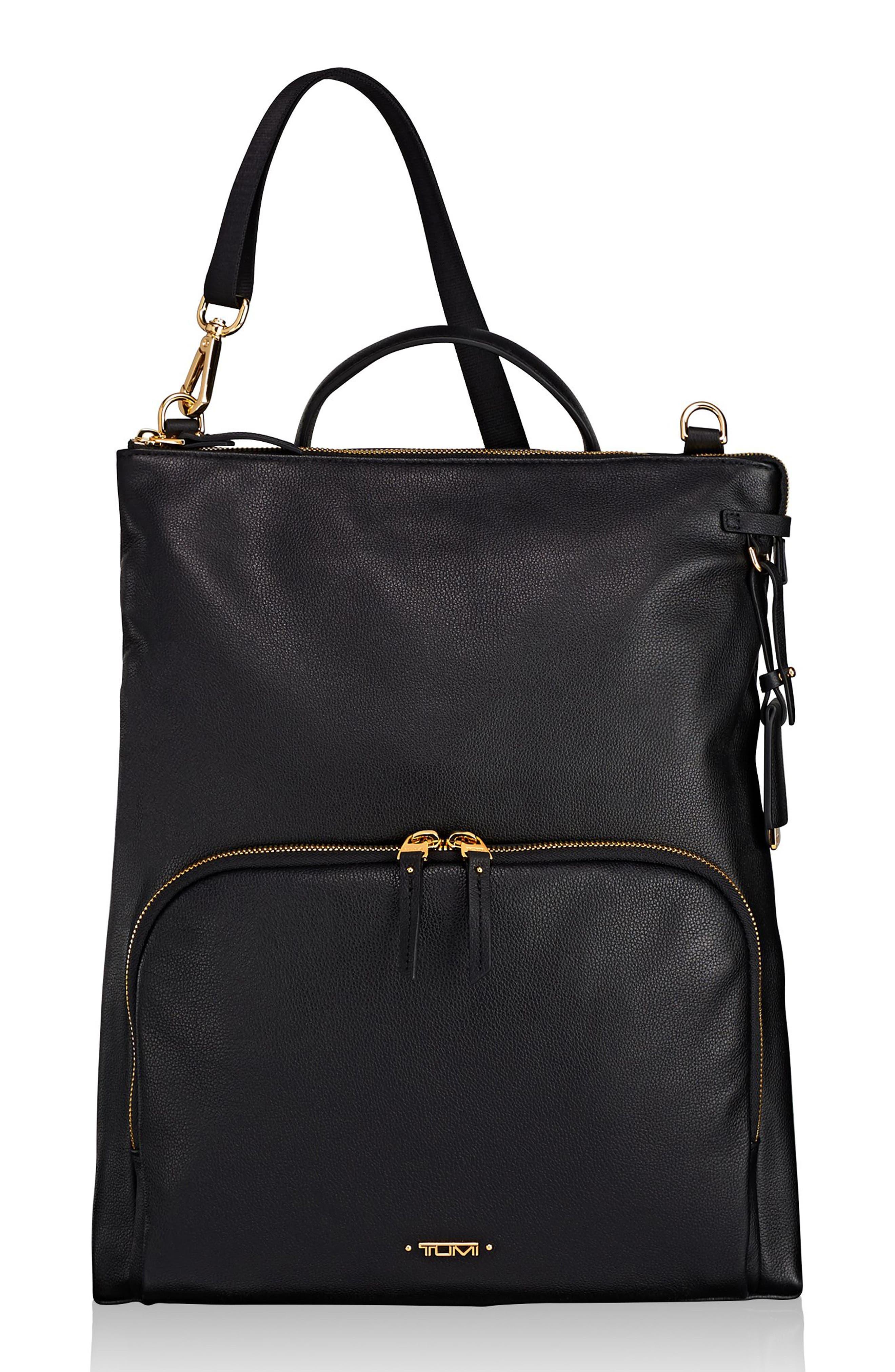 Tumi Voyageur - Jackie Convertible Crossbody Bag - Black  da88ca0bbca36