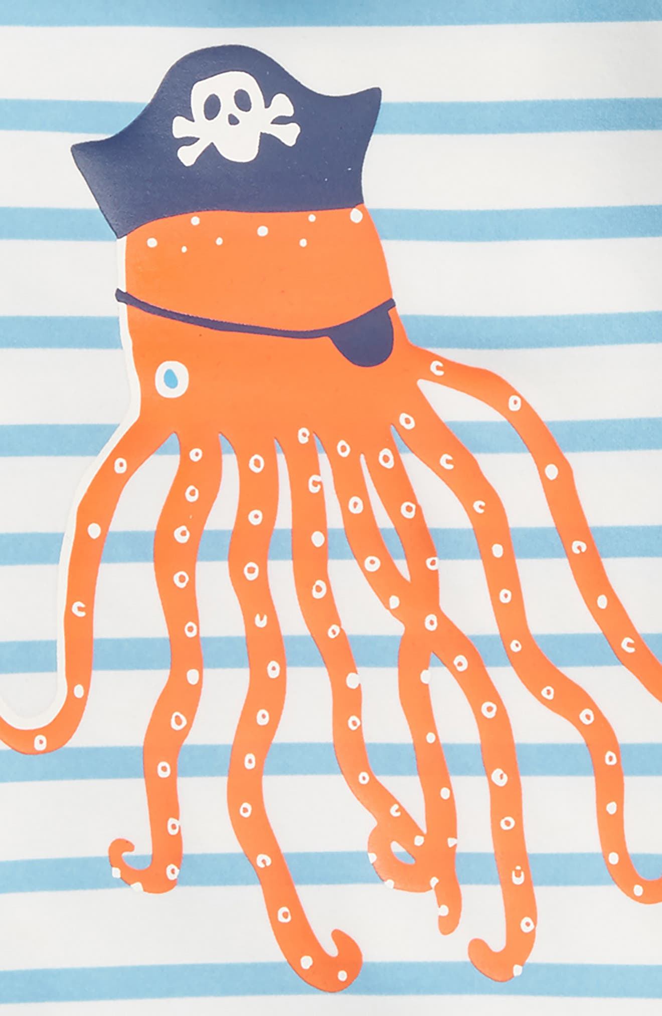 Sea Creature Rashguard,                             Alternate thumbnail 2, color,                             Ivory/ Grotto Blue