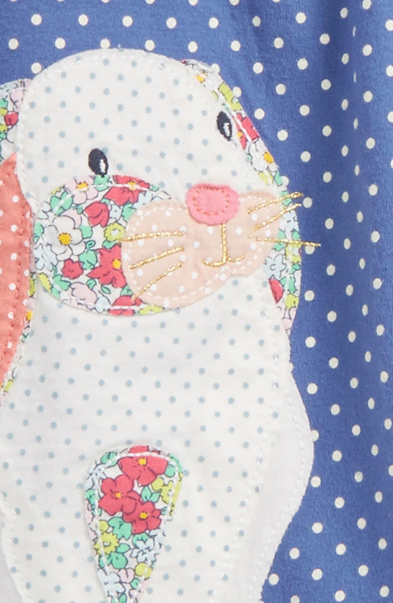 Appliqué Dress & Leggings Set,                             Alternate thumbnail 2, color,                             Washed Bluebell