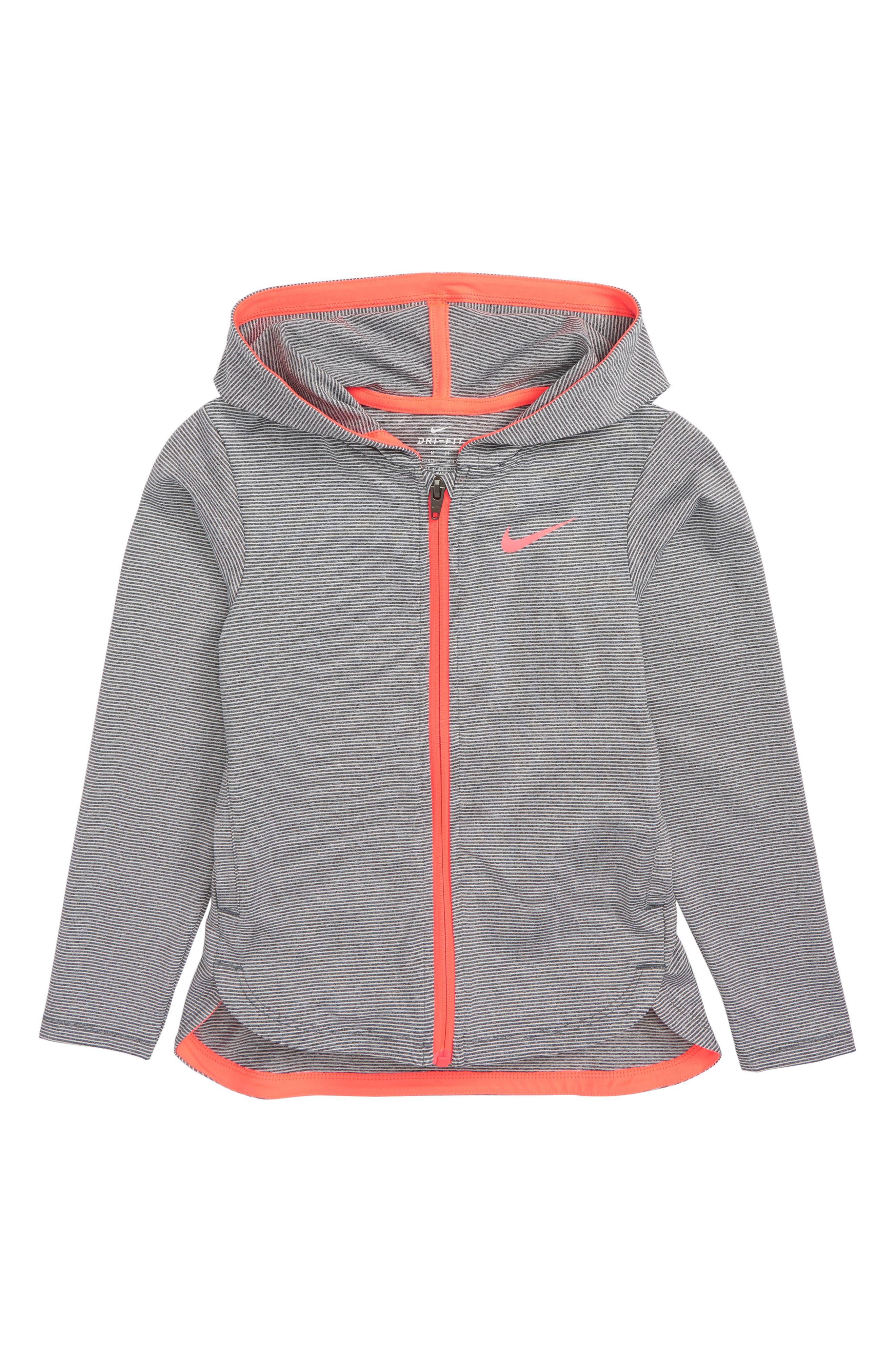 Nike Dry Sport FZ Hoodie (Toddler Girls & Little Girls)