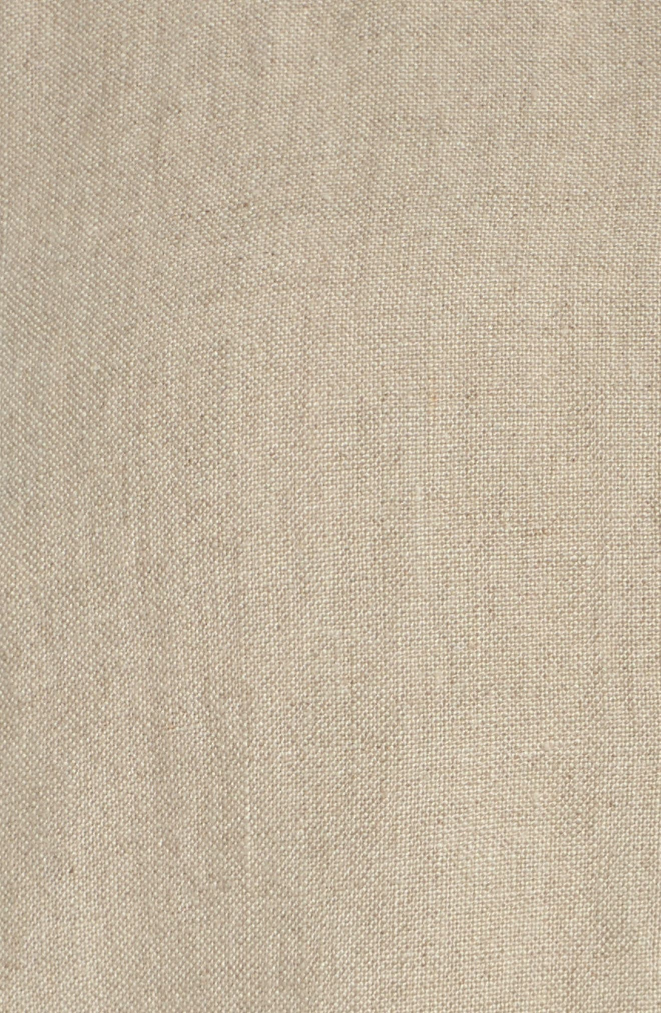 Organic Linen Jacket,                             Alternate thumbnail 6, color,                             Undyed Natural