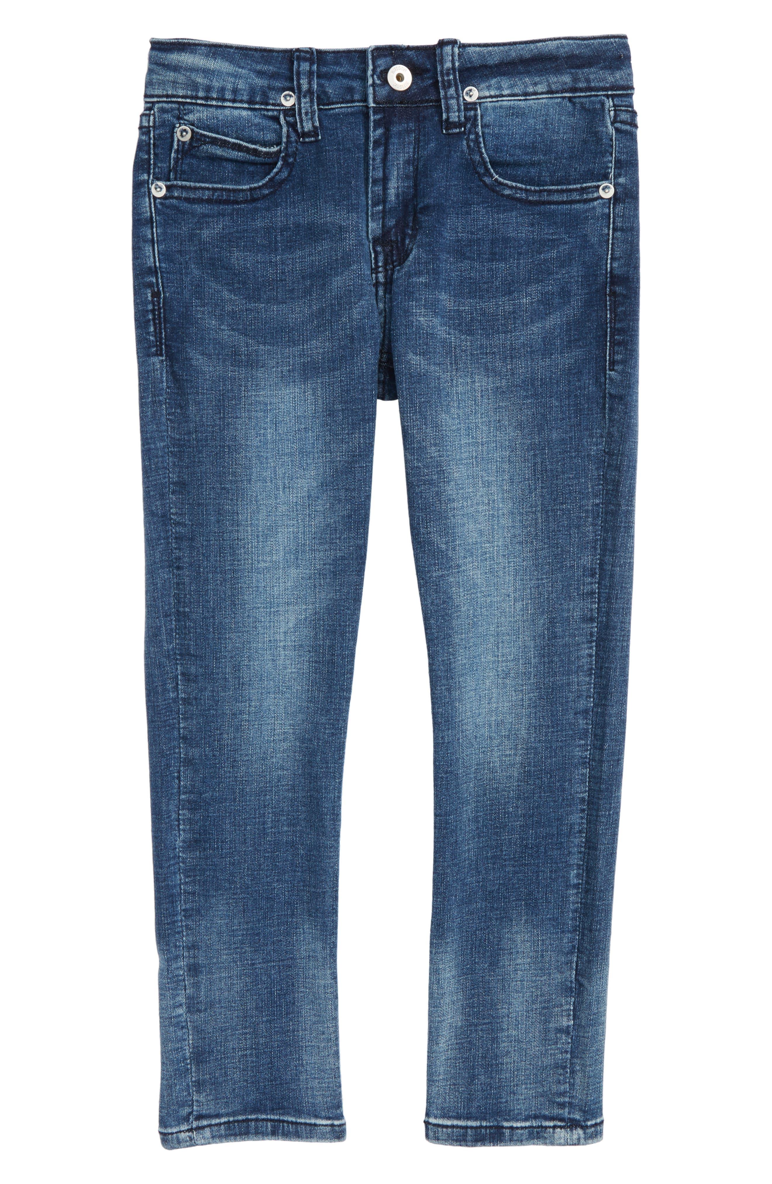 Jagger Slim Fit Straight Leg Jeans,                         Main,                         color, Desert Wash
