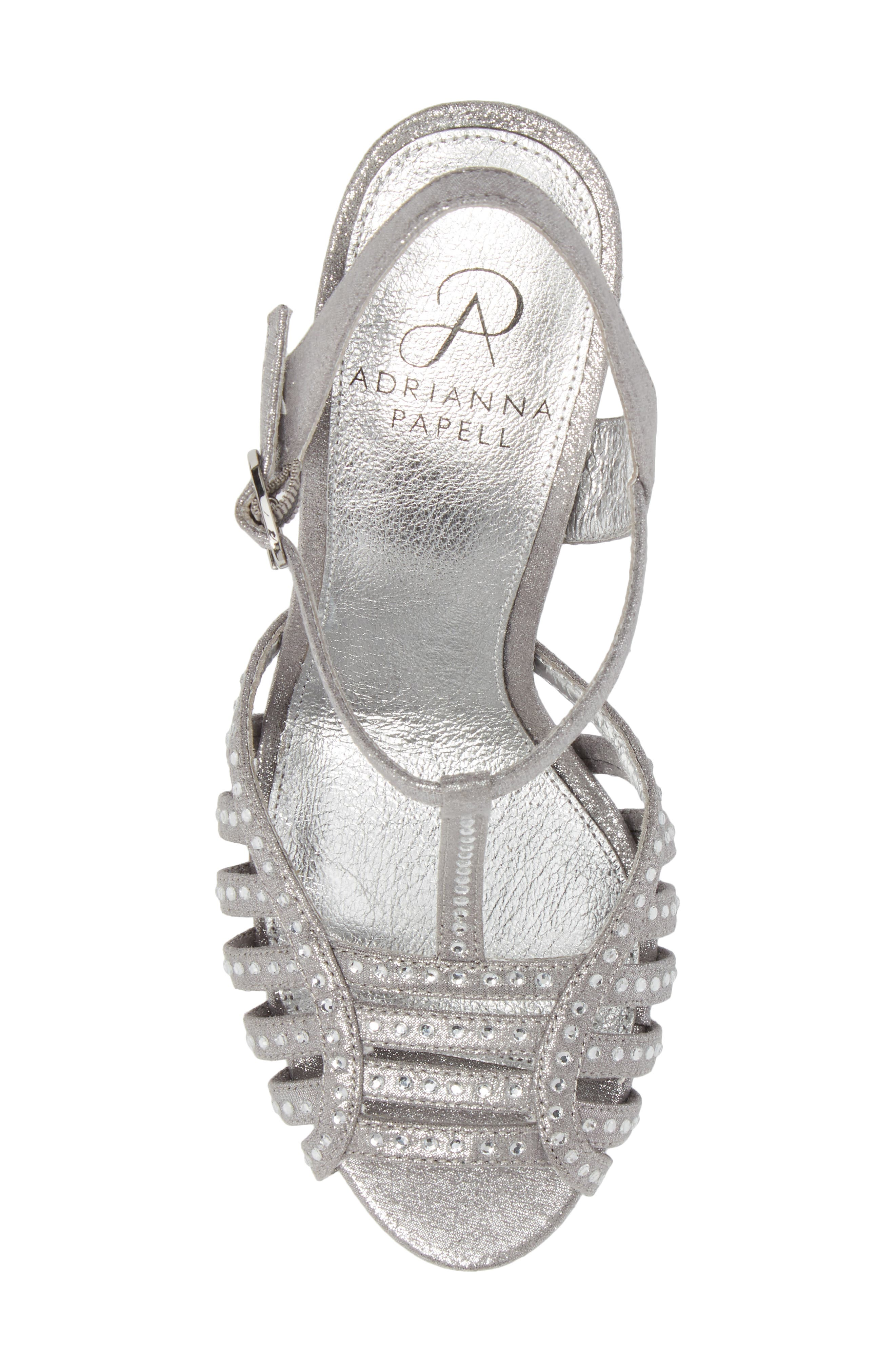Alternate Image 5  - Adrianna Papell Faith T-Strap Sandal (Women)
