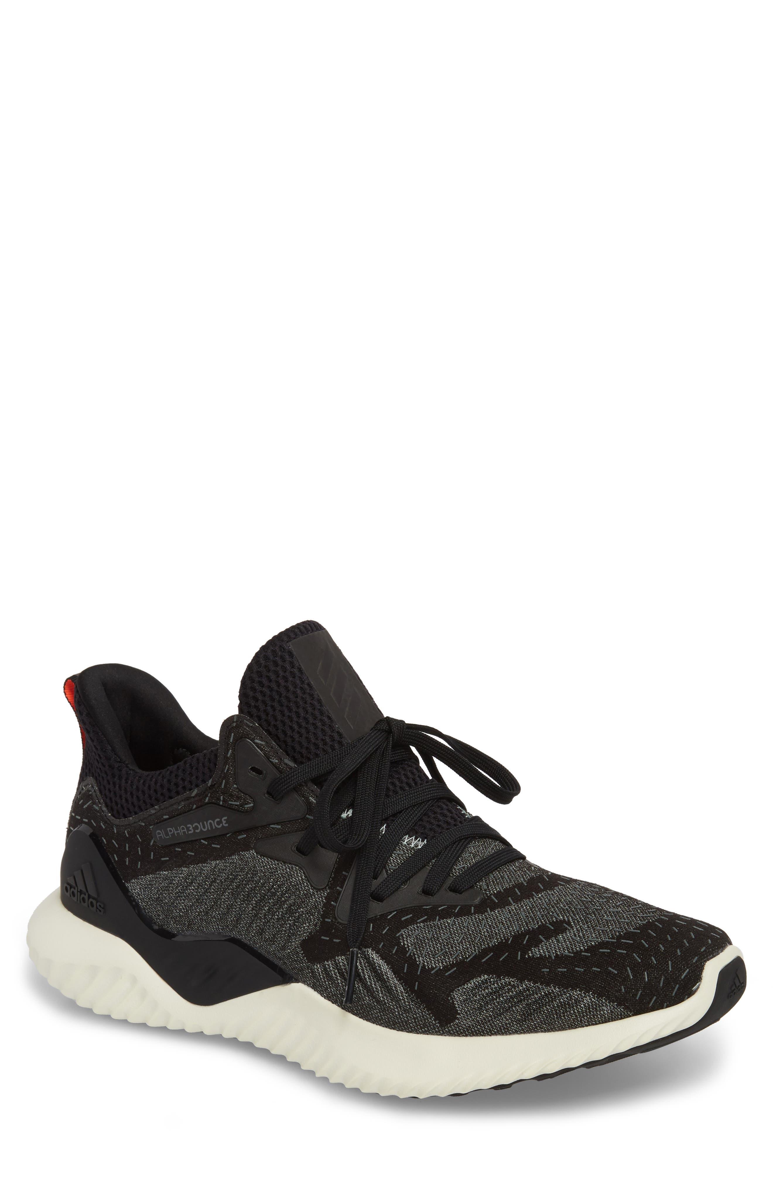 adidas AlphaBounce Beyond Knit Running Shoe (Men)