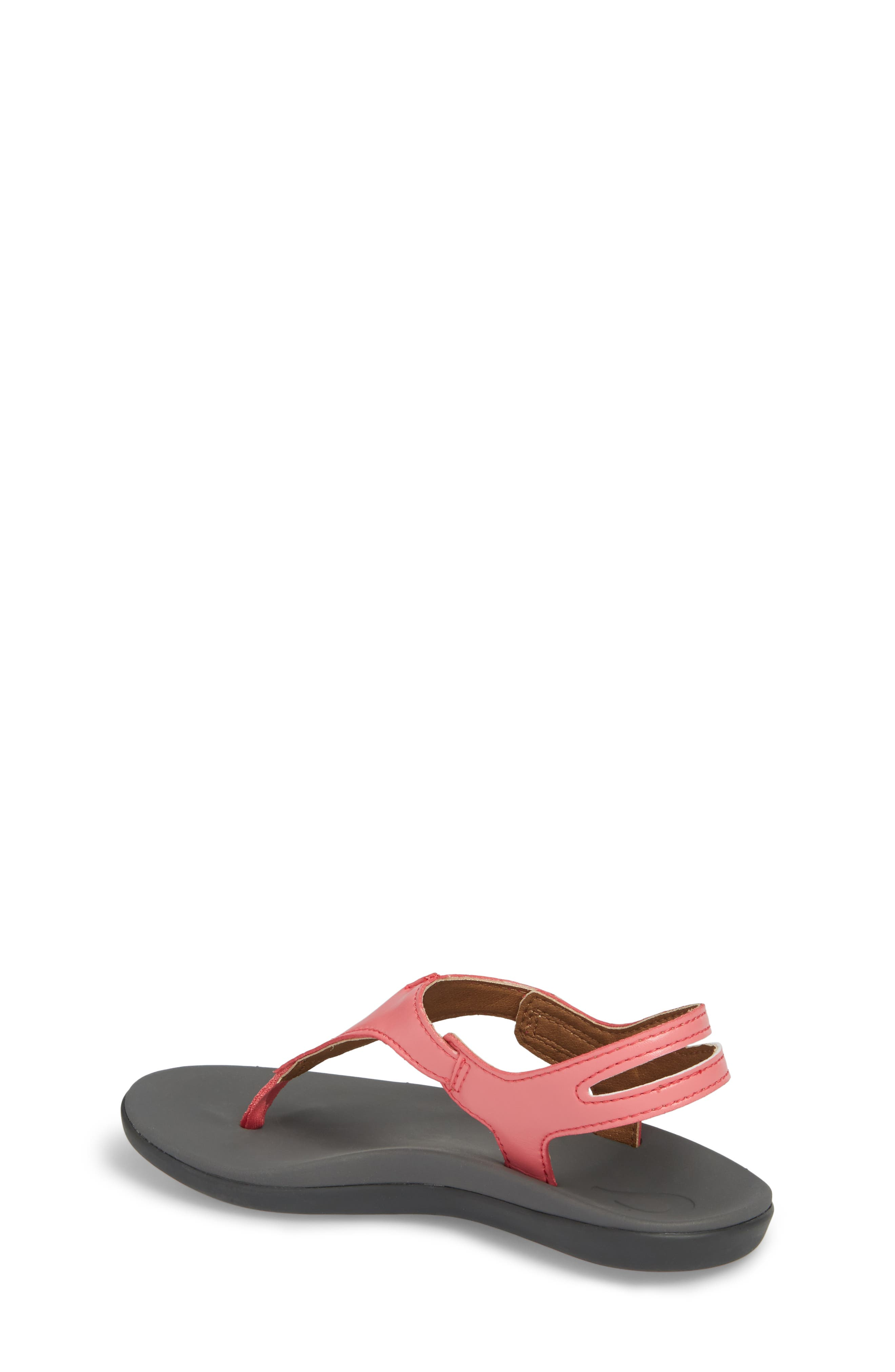 Eheu Sandal,                             Alternate thumbnail 2, color,                             Guava Jelly/ Charcoal