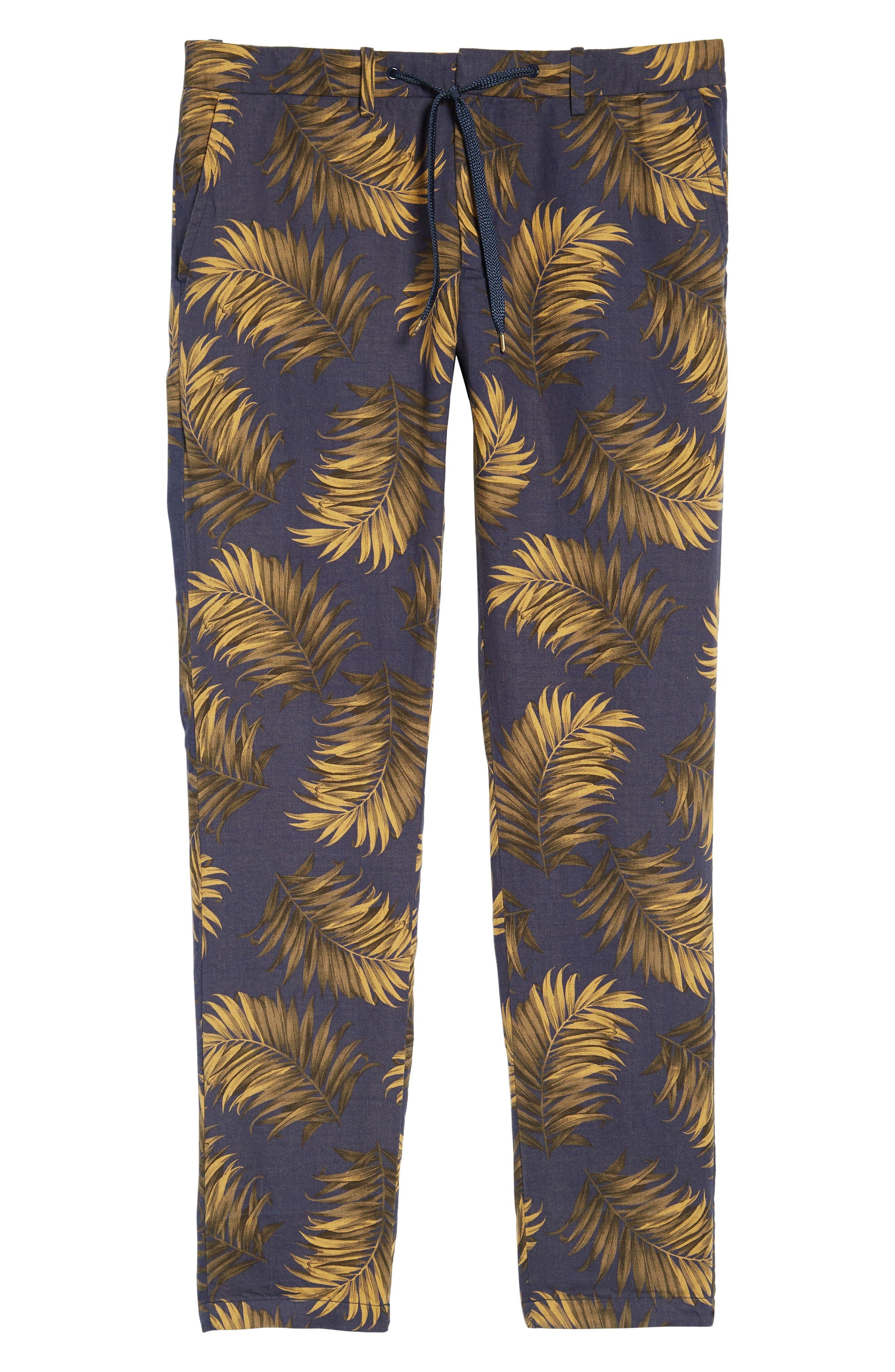 Linen Beach Pants,                             Alternate thumbnail 6, color,                             Combo A