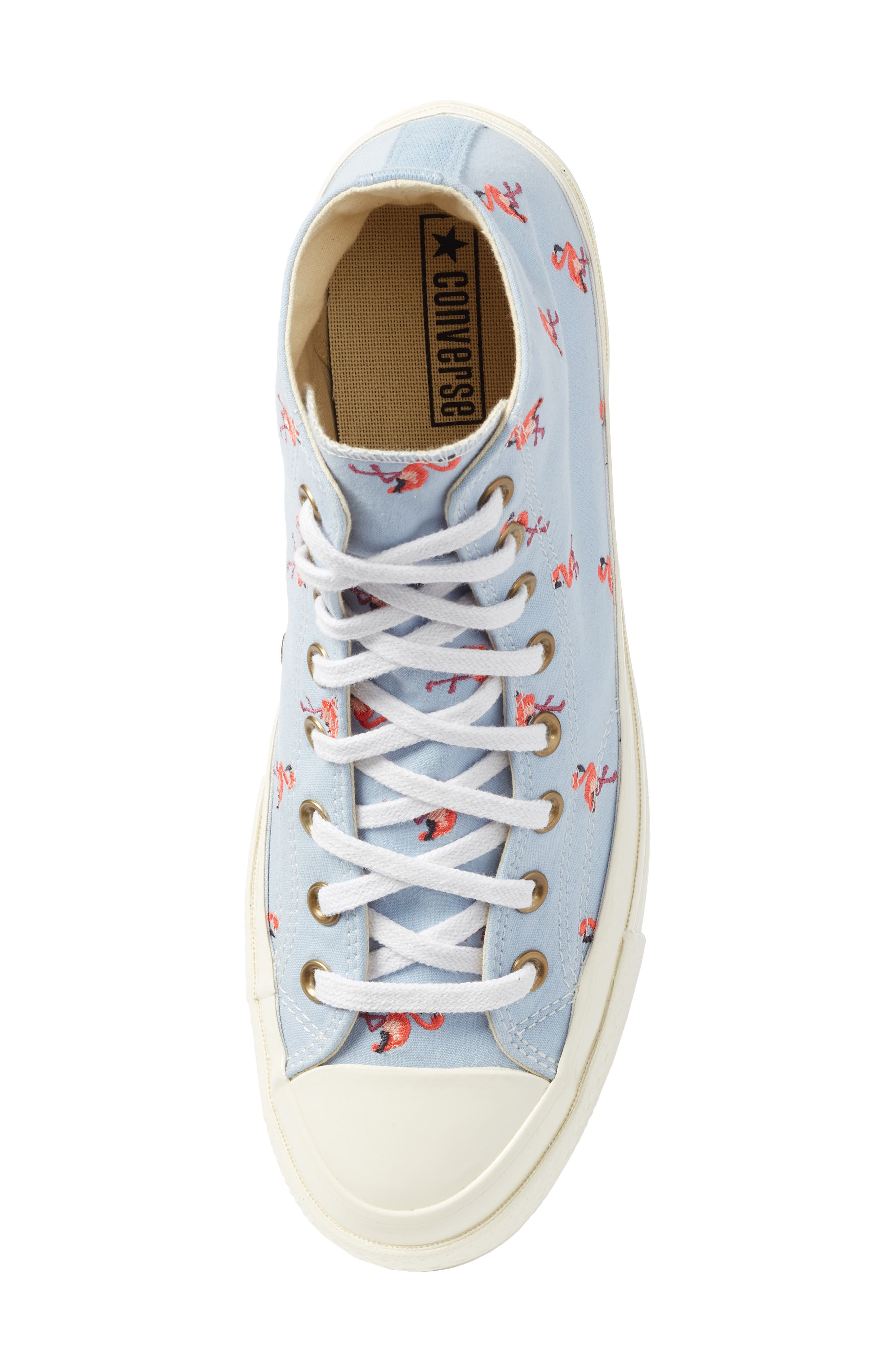 Chuck Taylor<sup>®</sup> All Star<sup>®</sup> Chuck 70 Flamingo Sneaker,                             Alternate thumbnail 5, color,                             Blue Chili