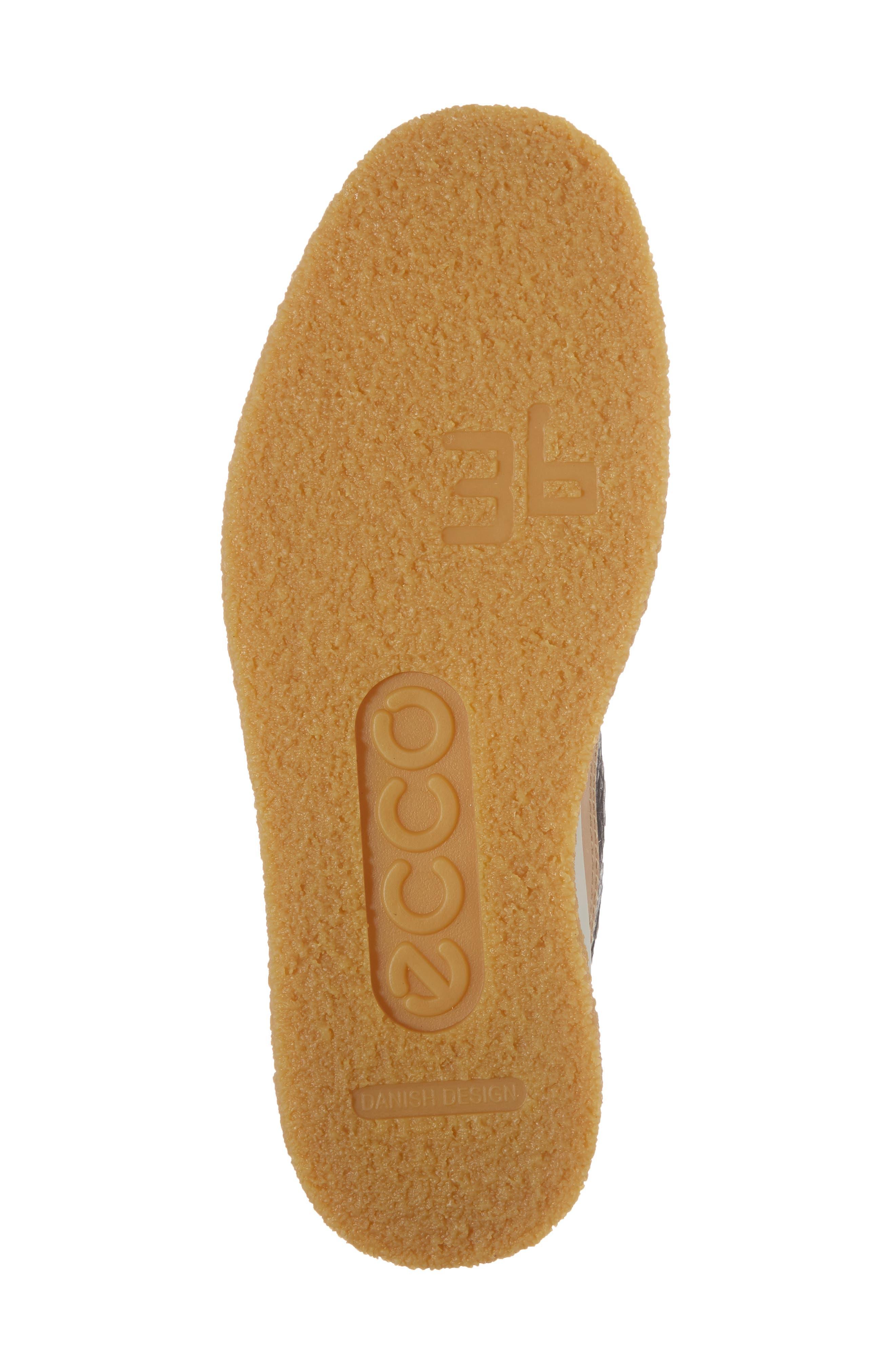 Crepetray Chukka Boot,                             Alternate thumbnail 6, color,                             Black Powder Leather