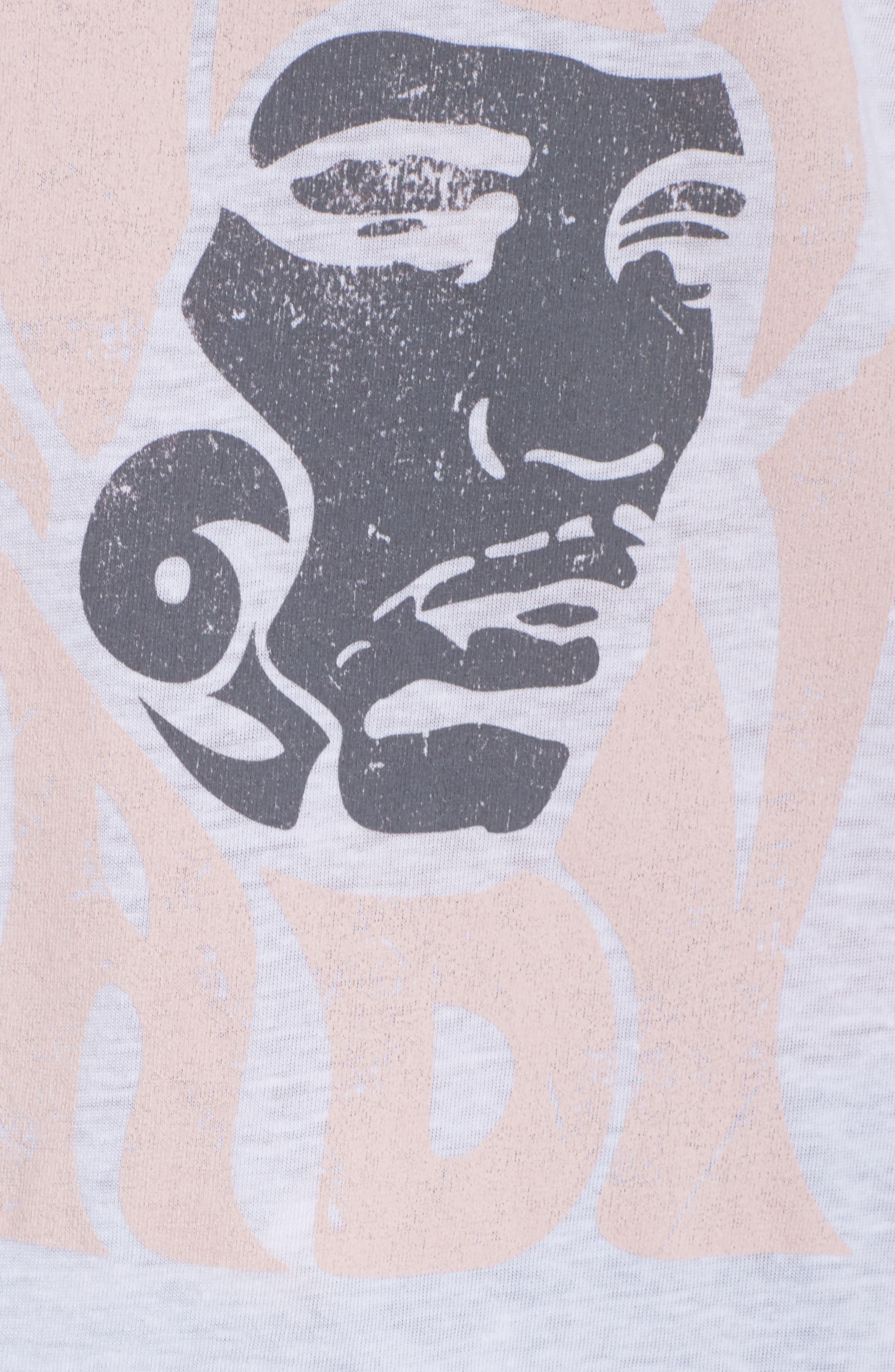 Hendrix Tee,                             Alternate thumbnail 6, color,                             White