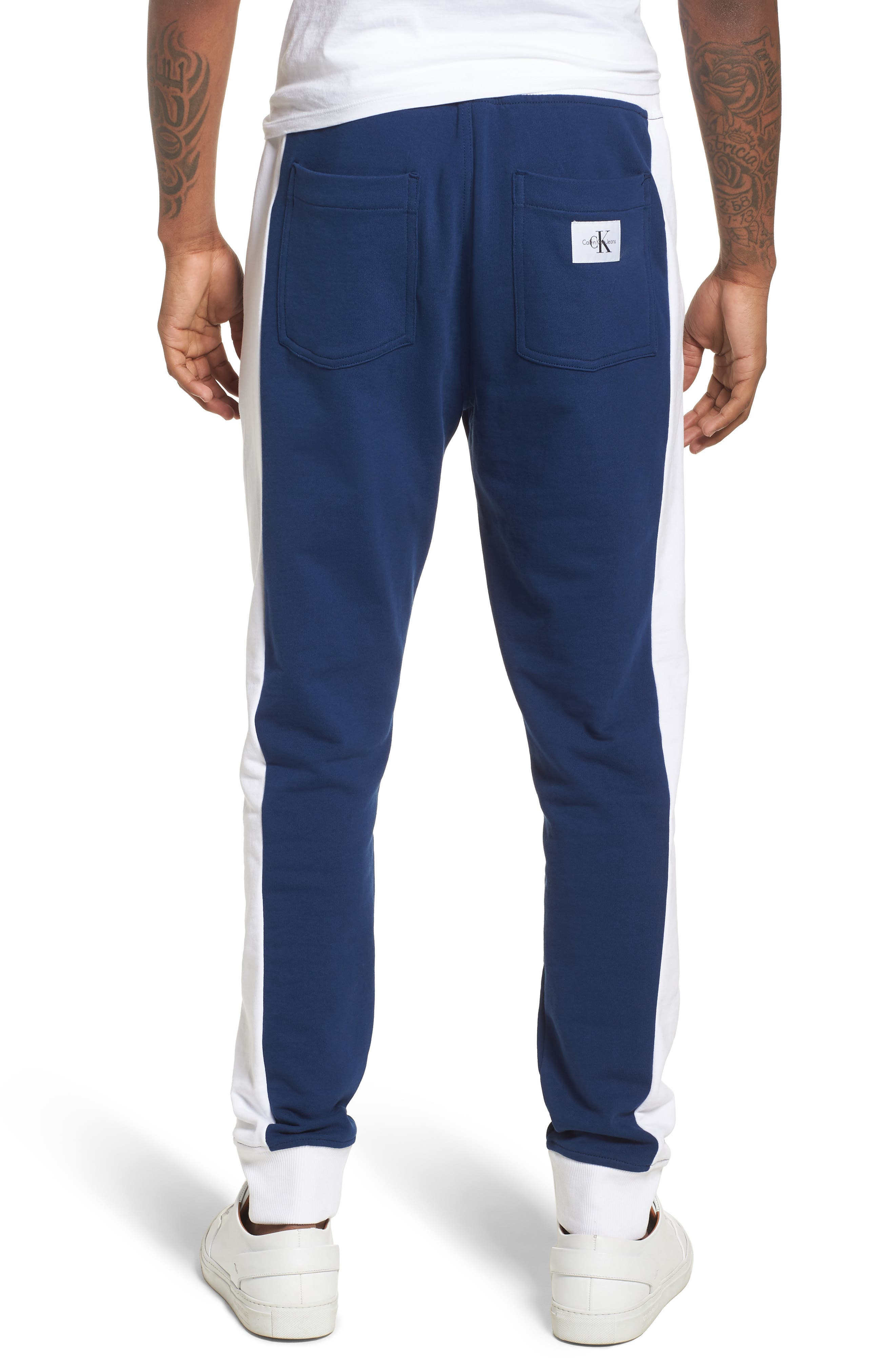 Athletic Collage Sweatpants,                             Alternate thumbnail 2, color,                             Night Rider
