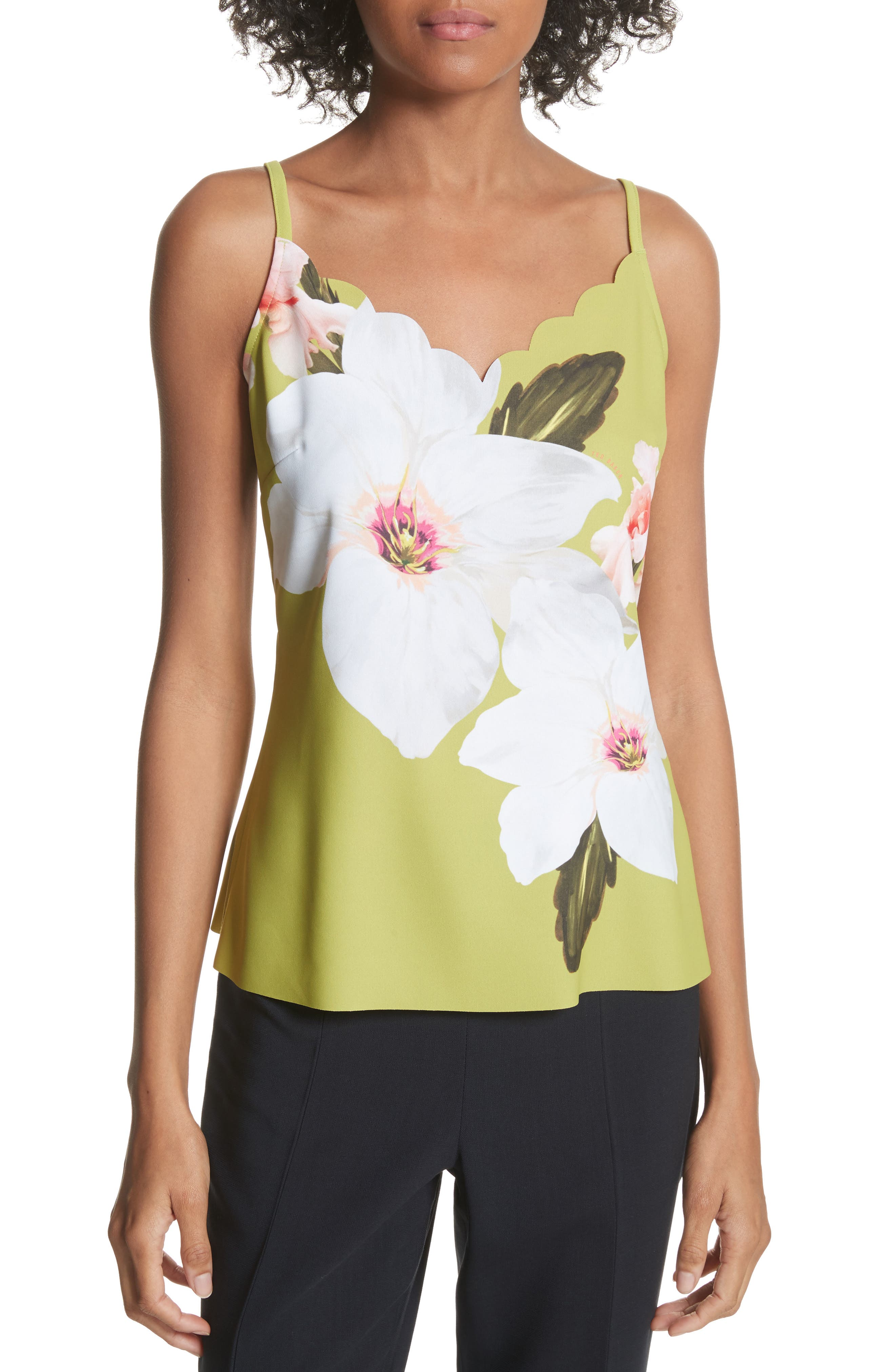 Ted Baker London Chatsworth Scalloped Camisole