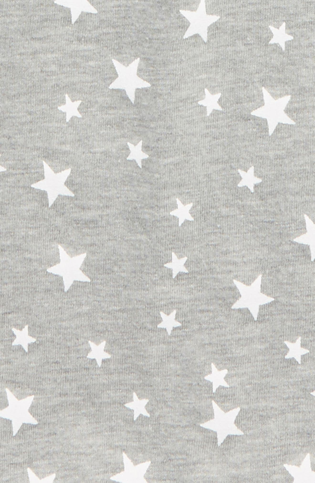 Enzo Star Print T-Shirt,                             Alternate thumbnail 2, color,                             Heather Grey
