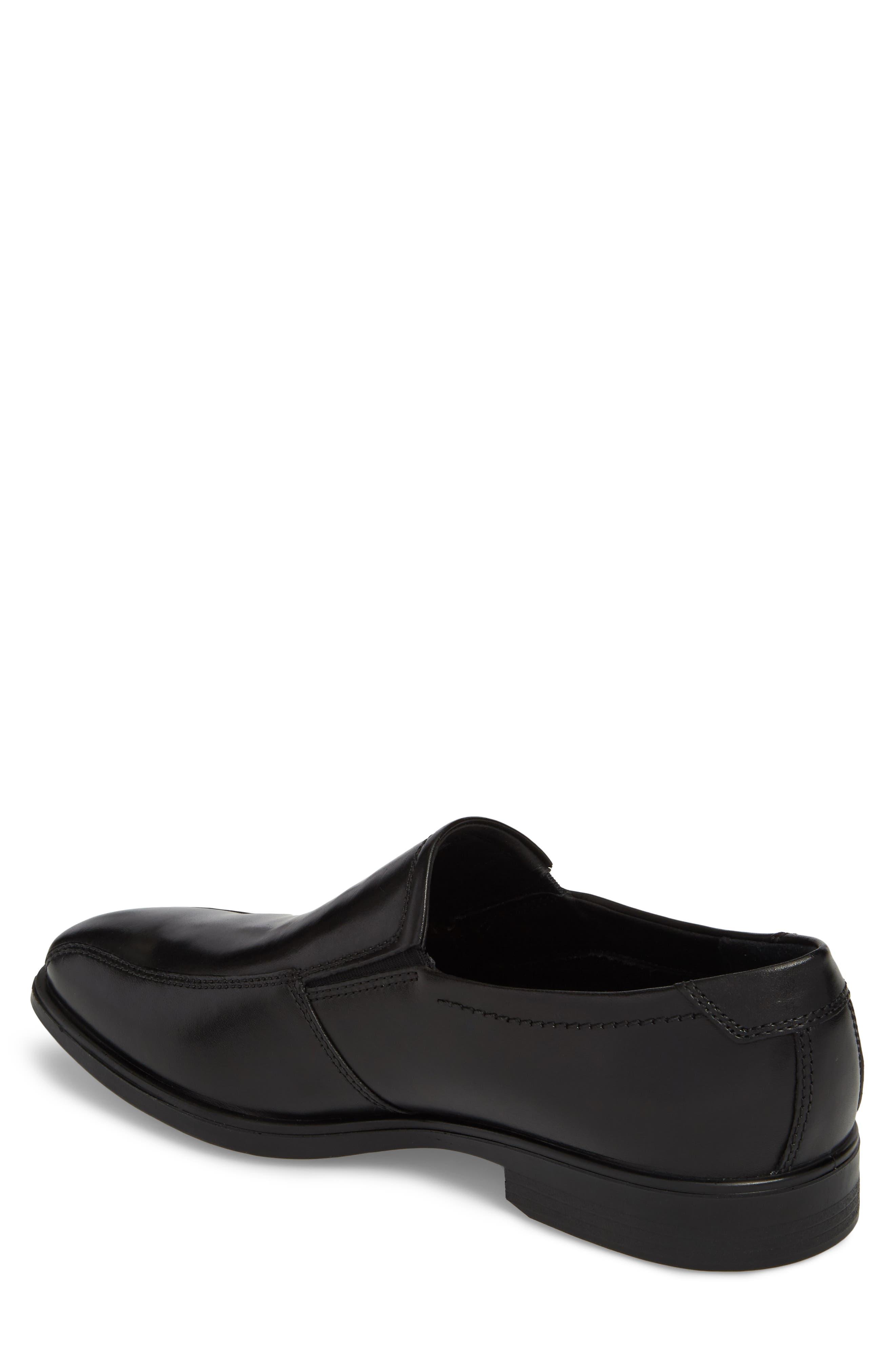 Melbourne Venetian Loafer,                             Alternate thumbnail 2, color,                             Black Leather