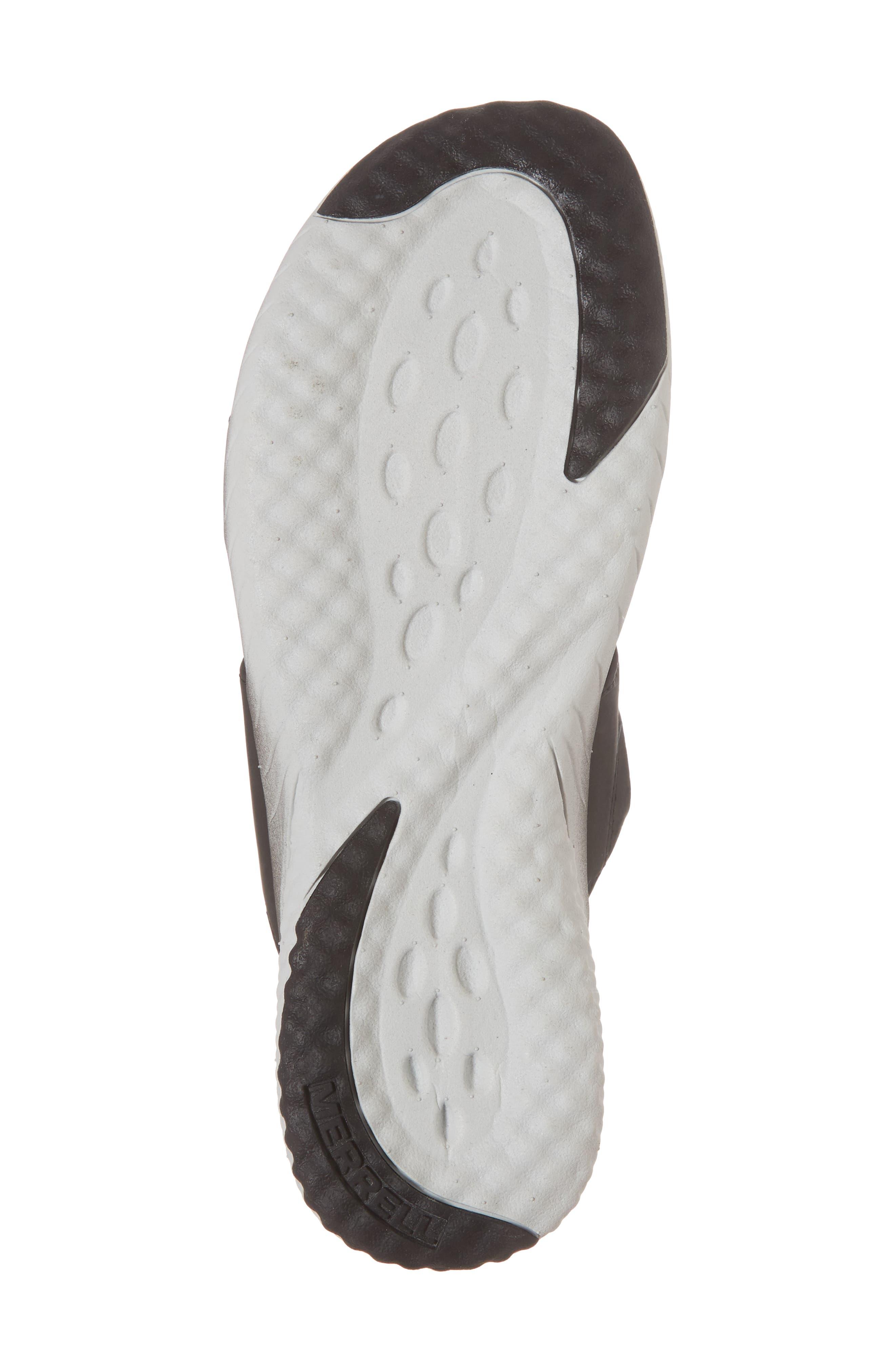 1SIX8 Linna Air Cushion+ Slide Sandal,                             Alternate thumbnail 6, color,                             Black