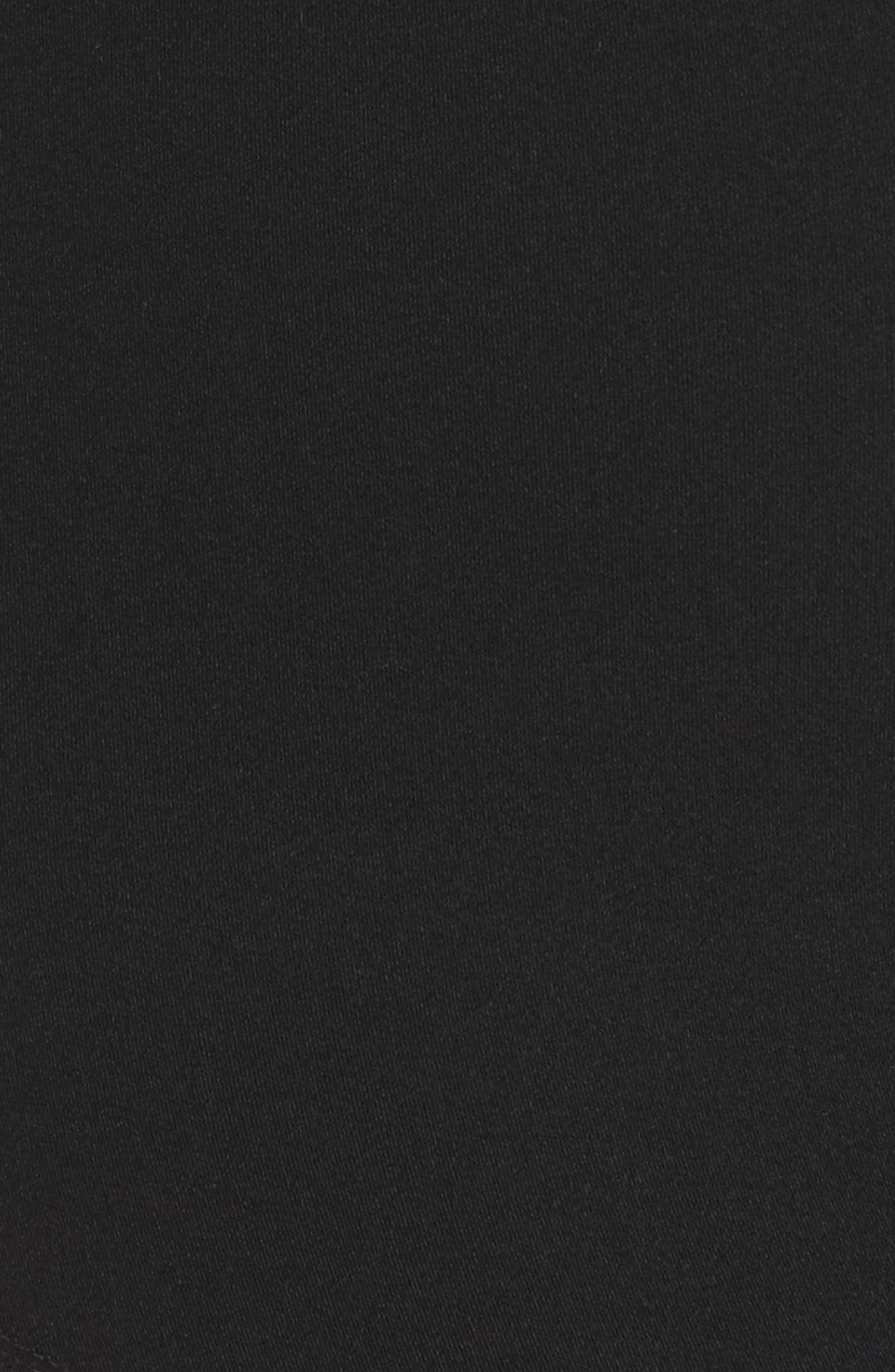 Marika High Waist Ankle Leggings,                             Alternate thumbnail 5, color,                             Black
