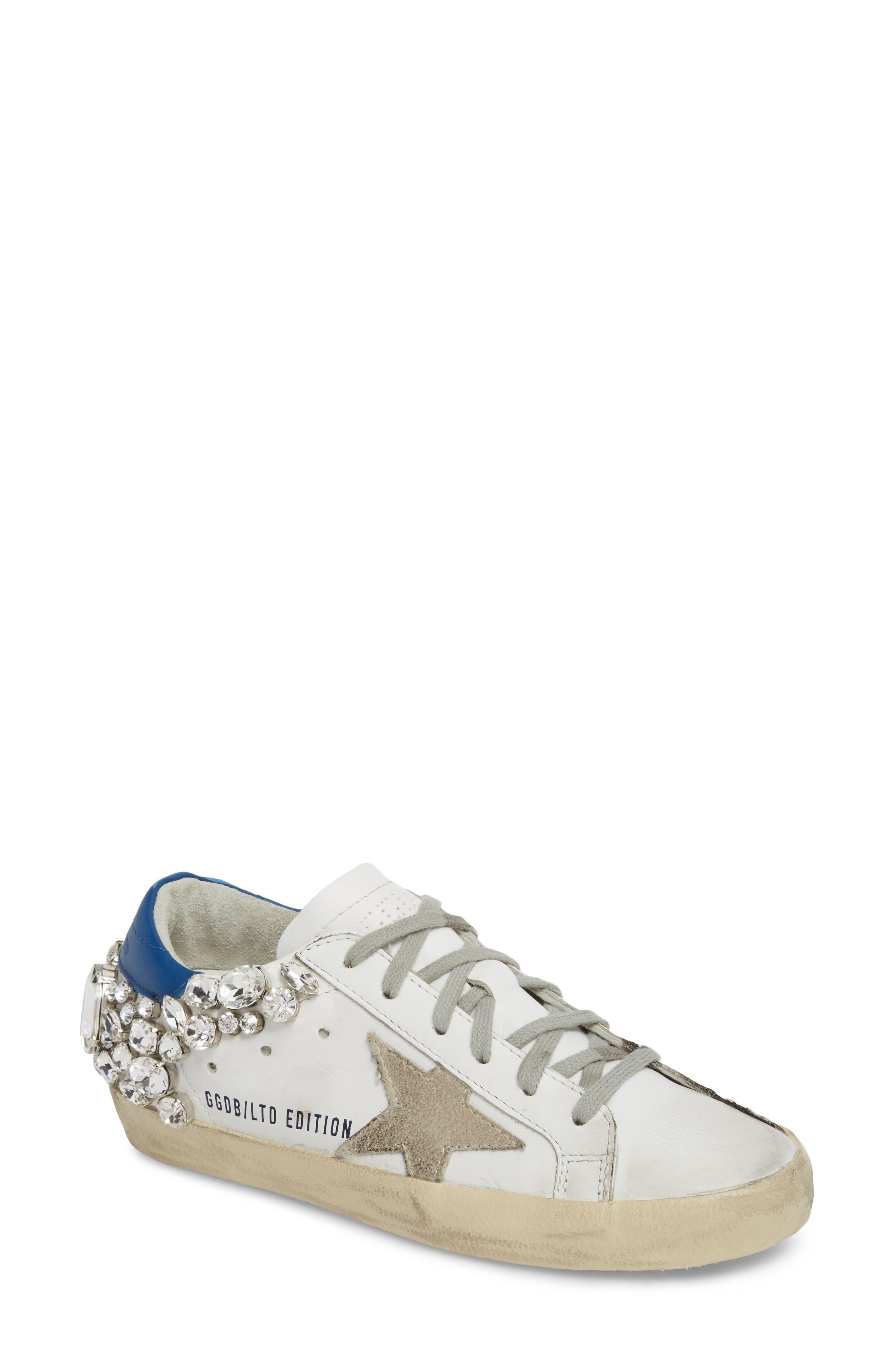Golden Goose Superstar Embellished Sneaker (Women)