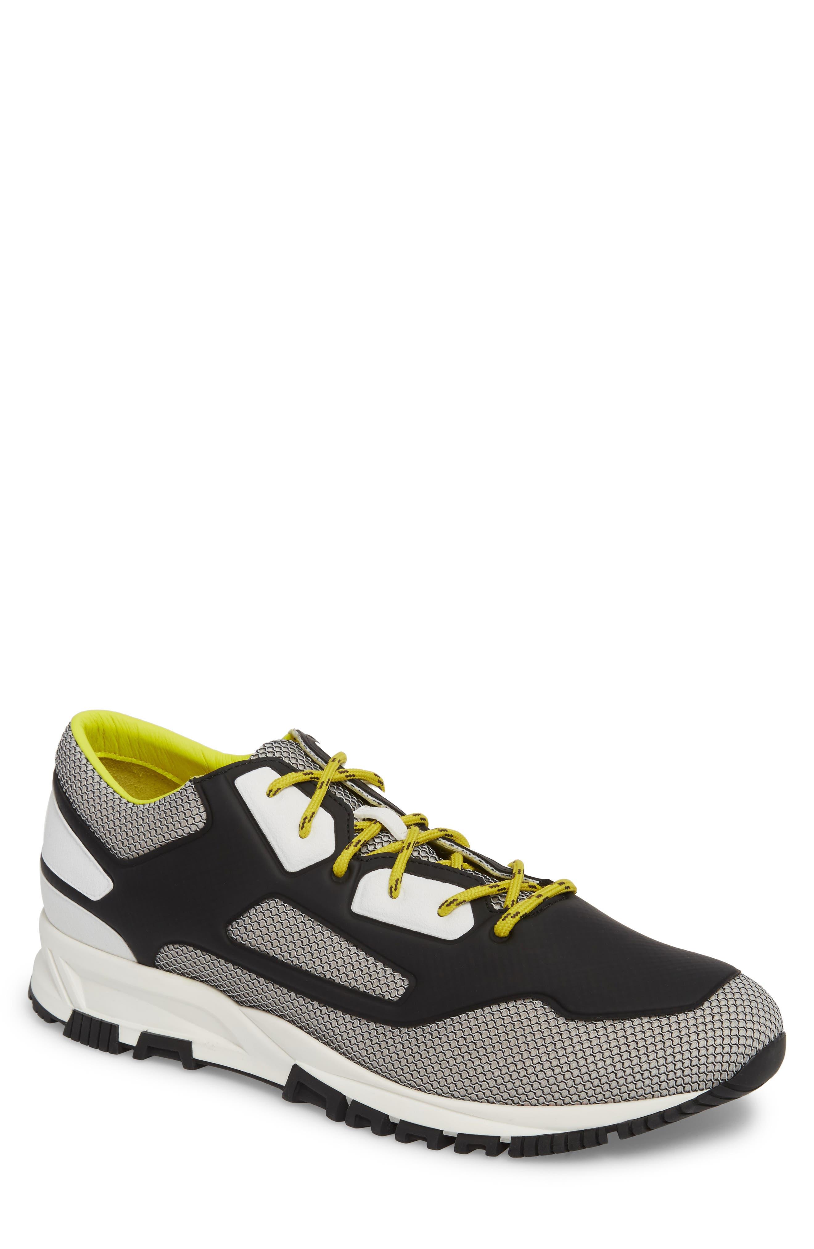High Frequency Mesh Running Shoe,                             Main thumbnail 1, color,                             Grey