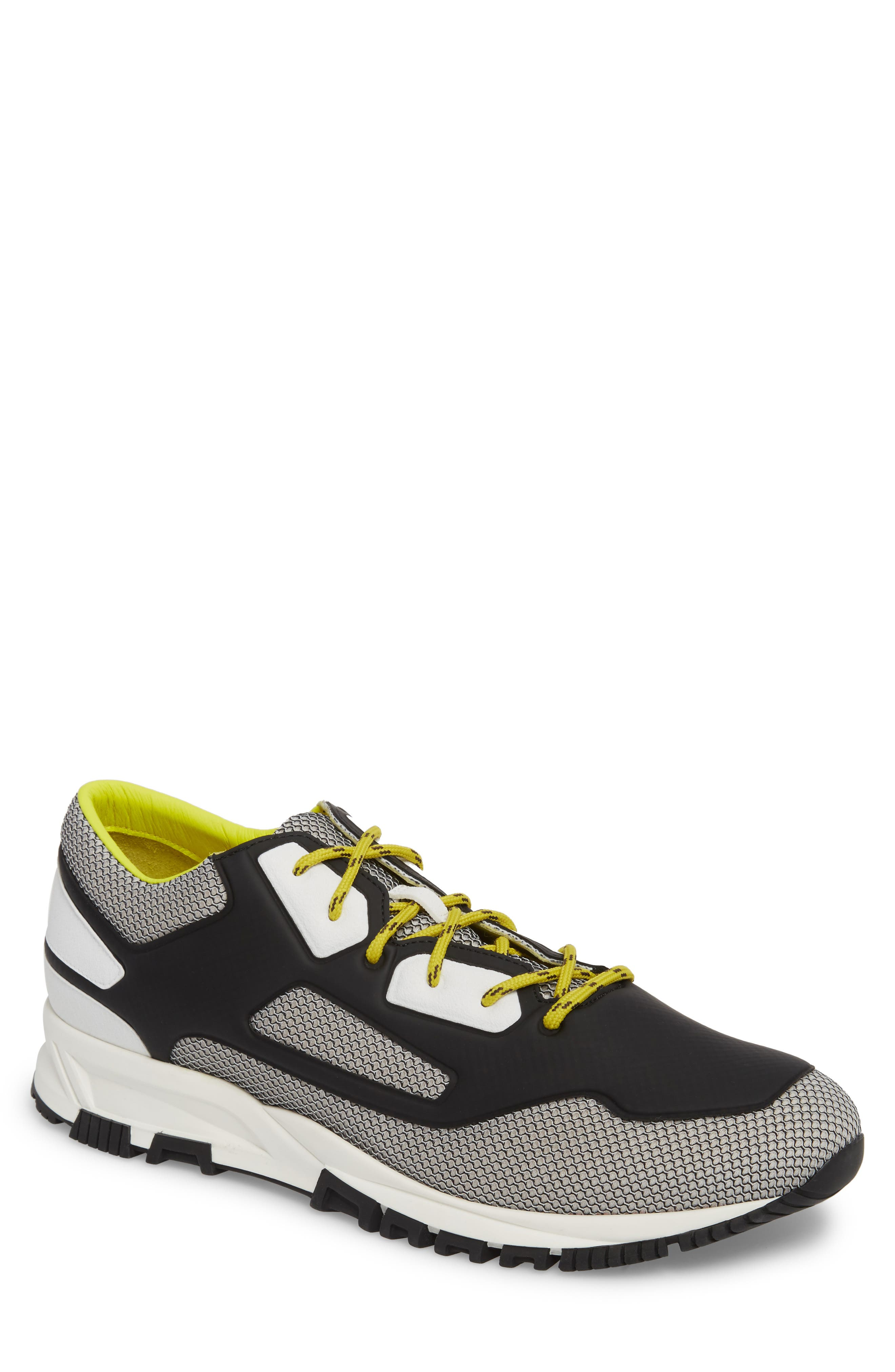 High Frequency Mesh Running Shoe,                         Main,                         color, Grey