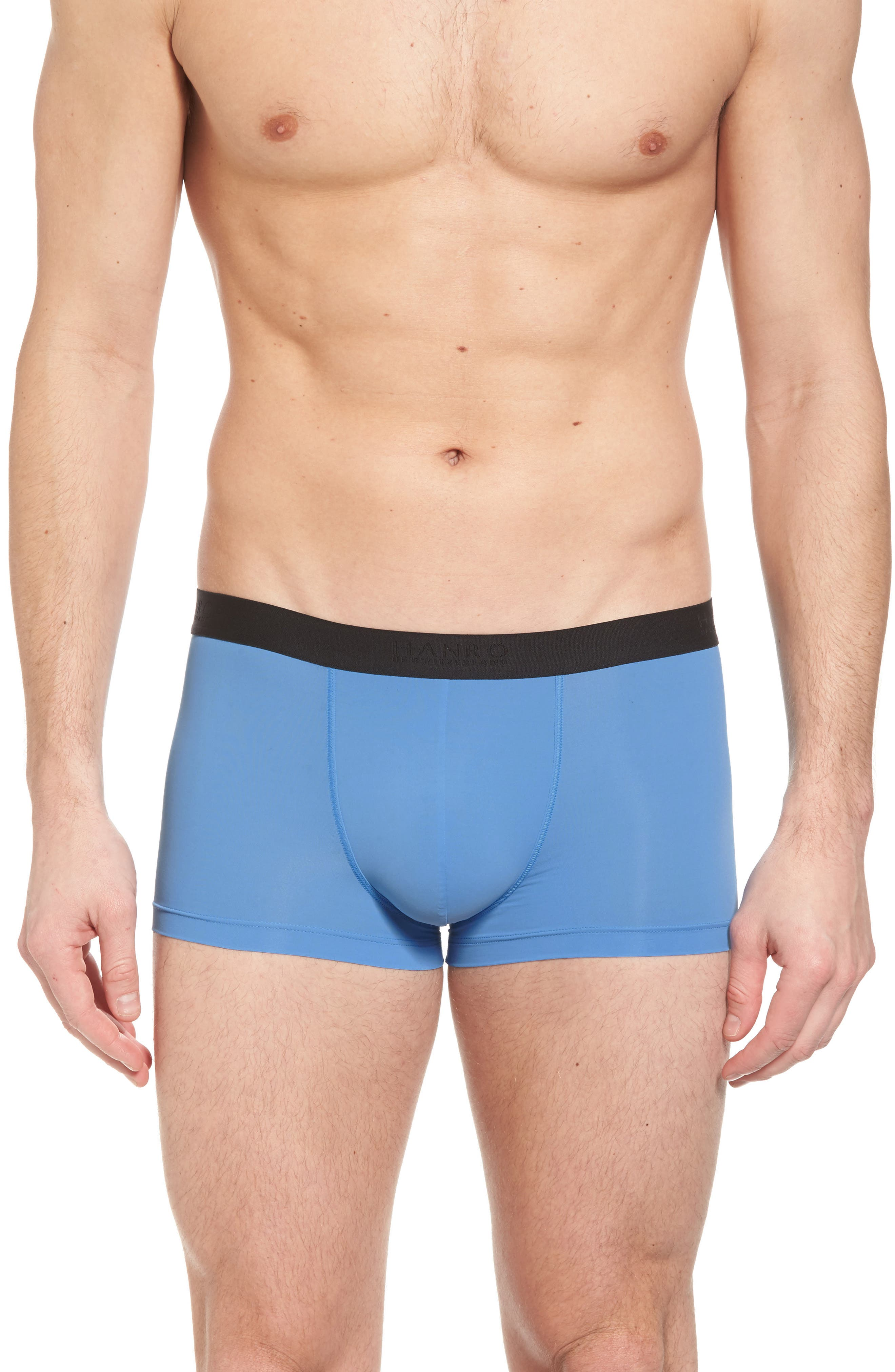 Micro Touch Boxer Brief,                         Main,                         color, Azure
